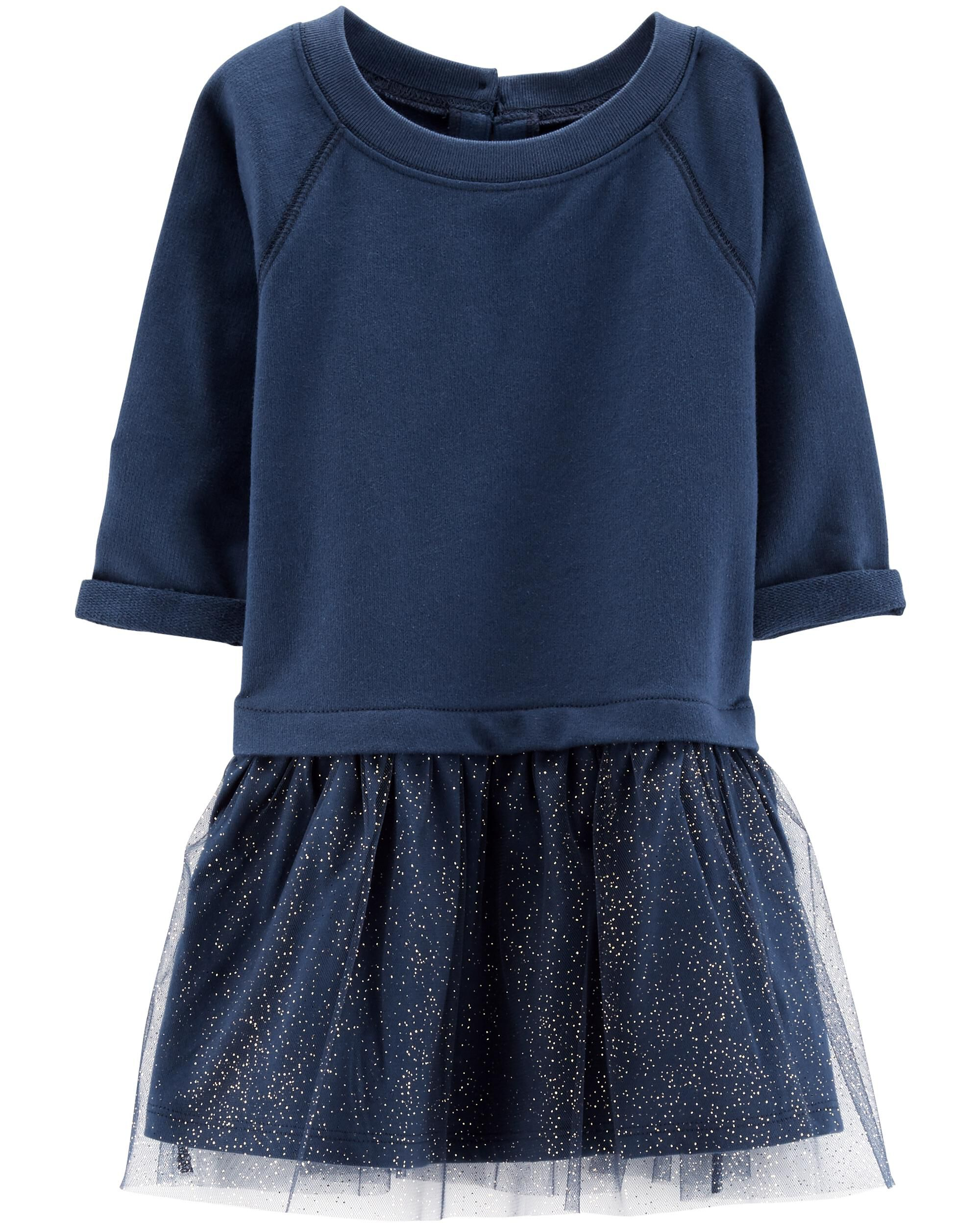 *Clearance*  Tutu French Terry Dress