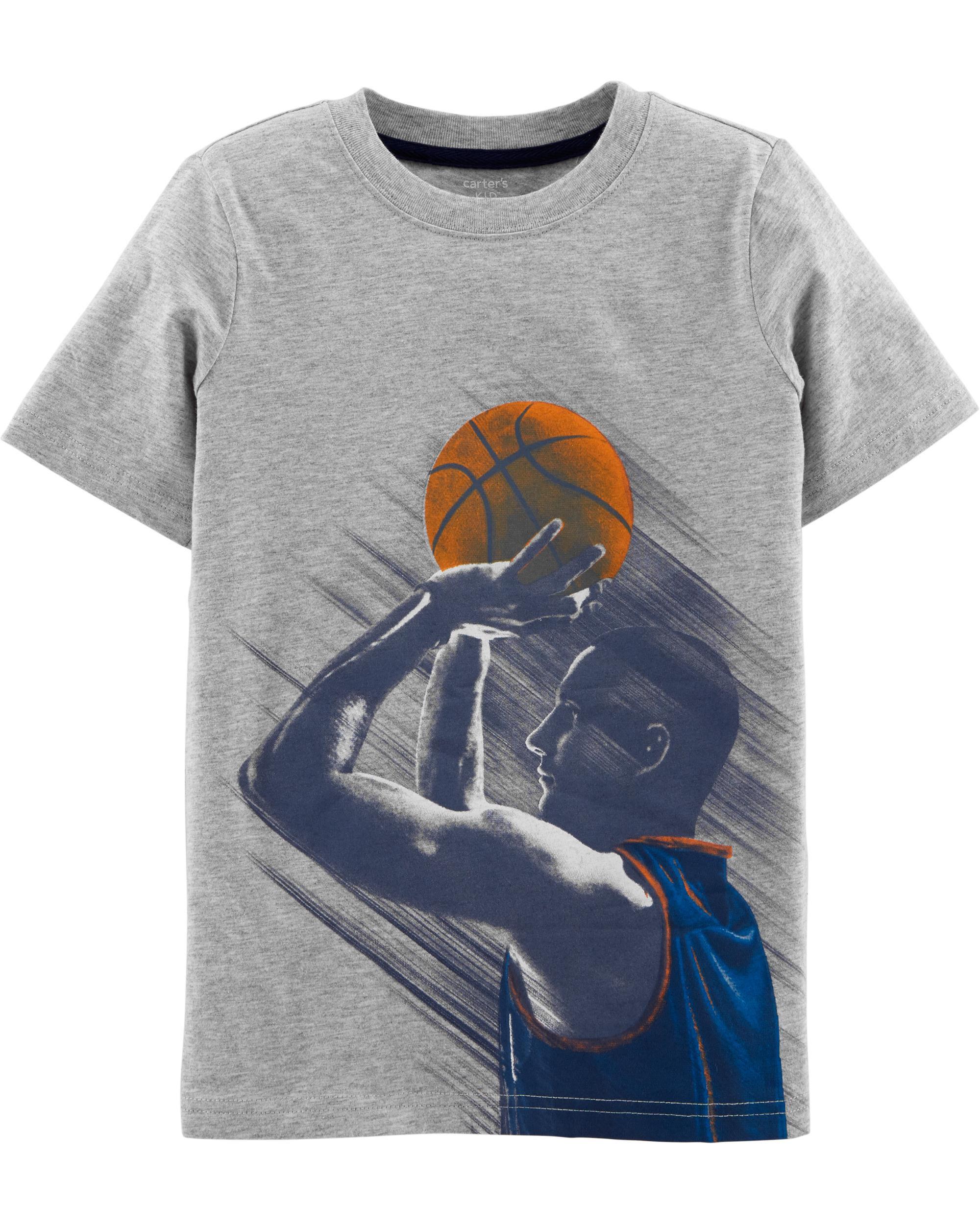 *Clearance*  Basketball Jersey Tee