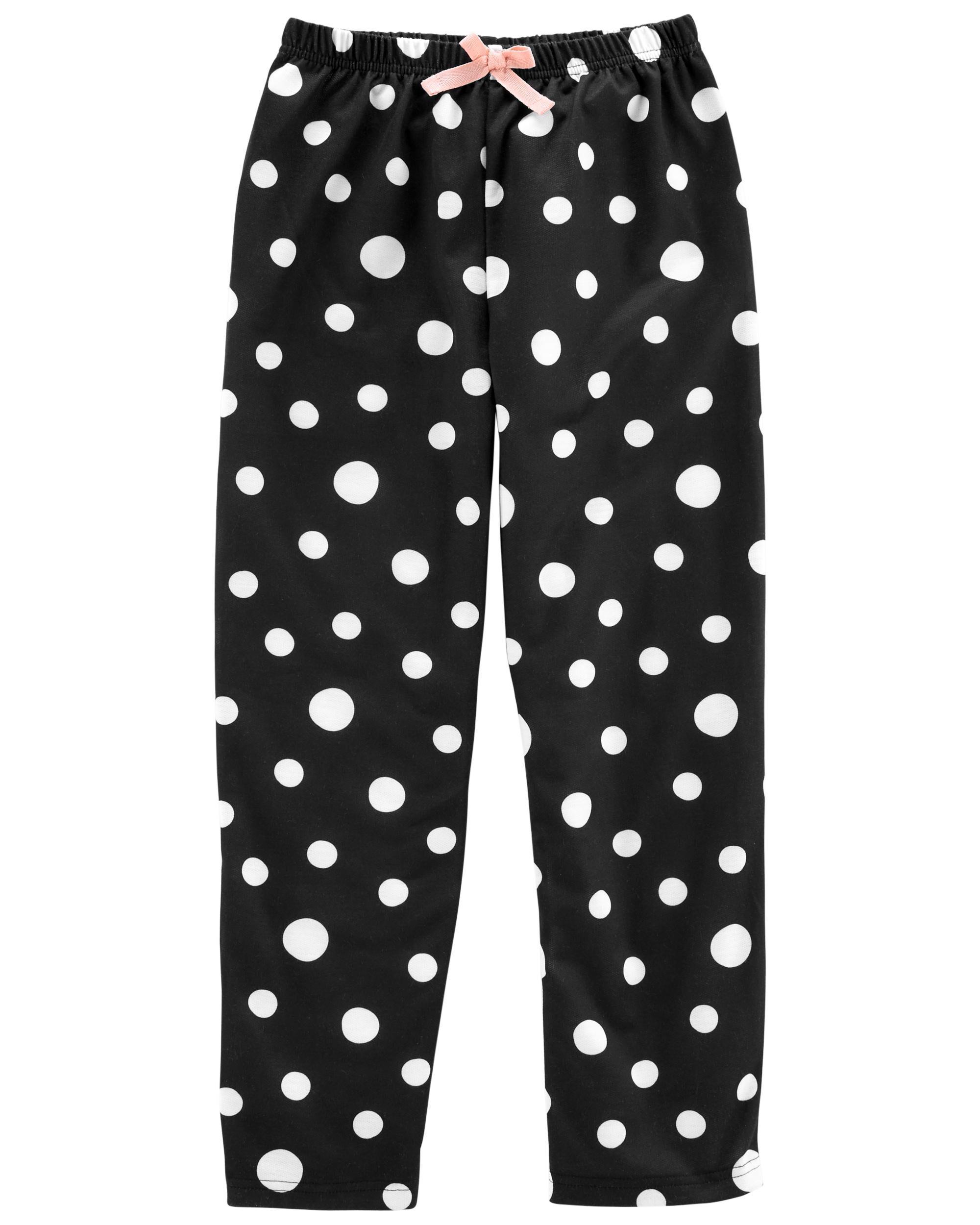 *Clearance*  Polka Dot French Terry Sleep Pants