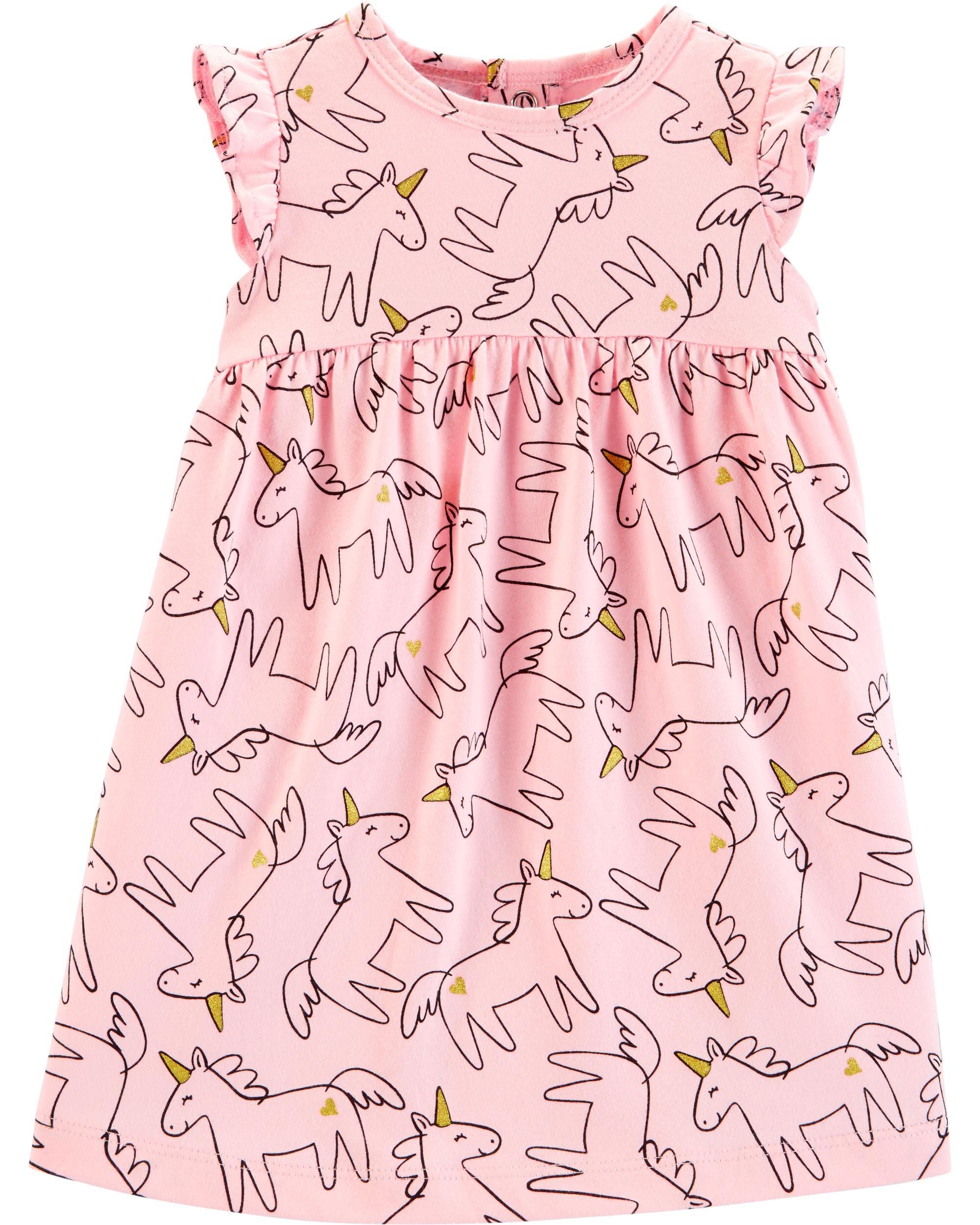 *Clearance*  Unicorn Jersey Dress