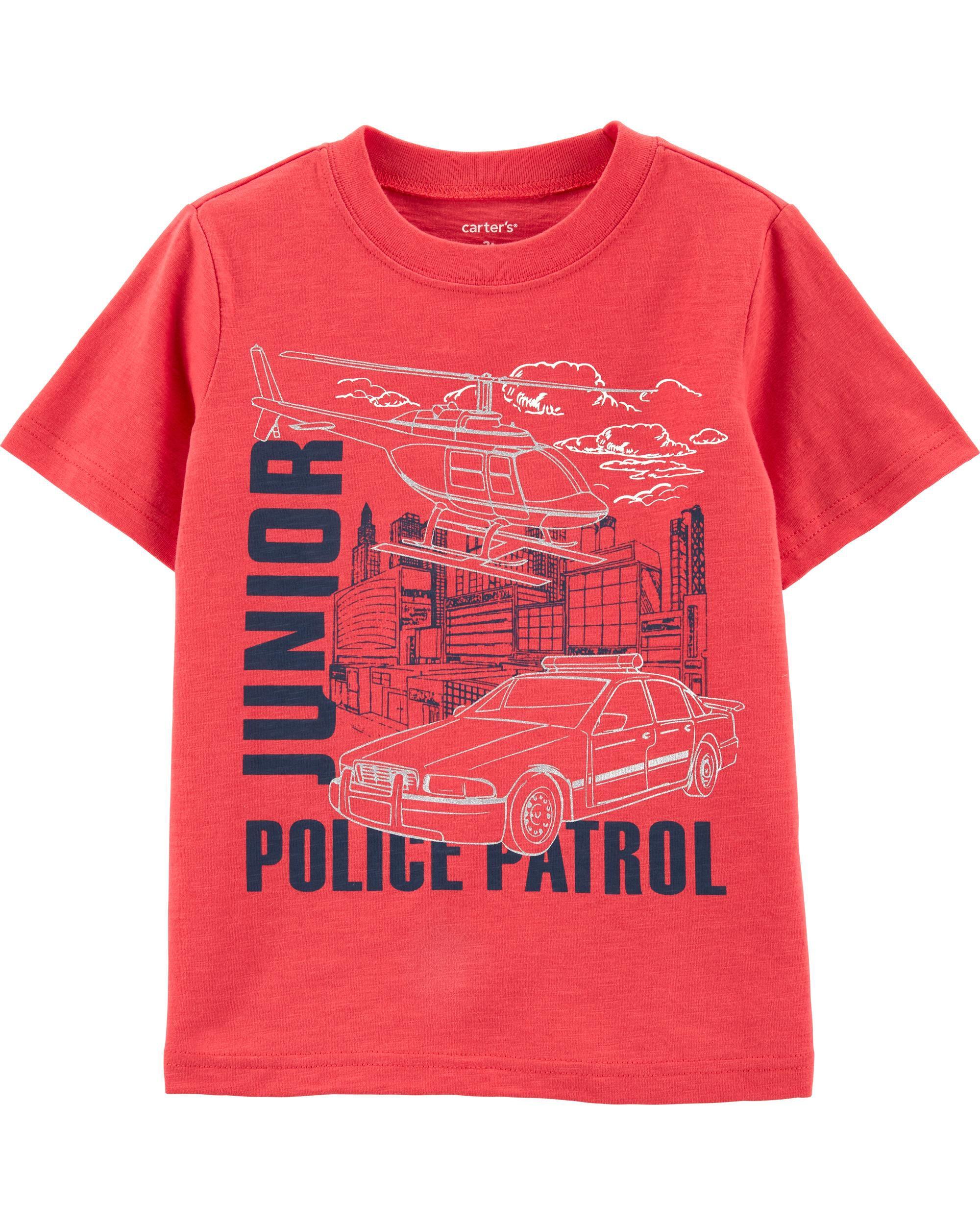 *Clearance*  Junior Police Patrol Slub Jersey Te...
