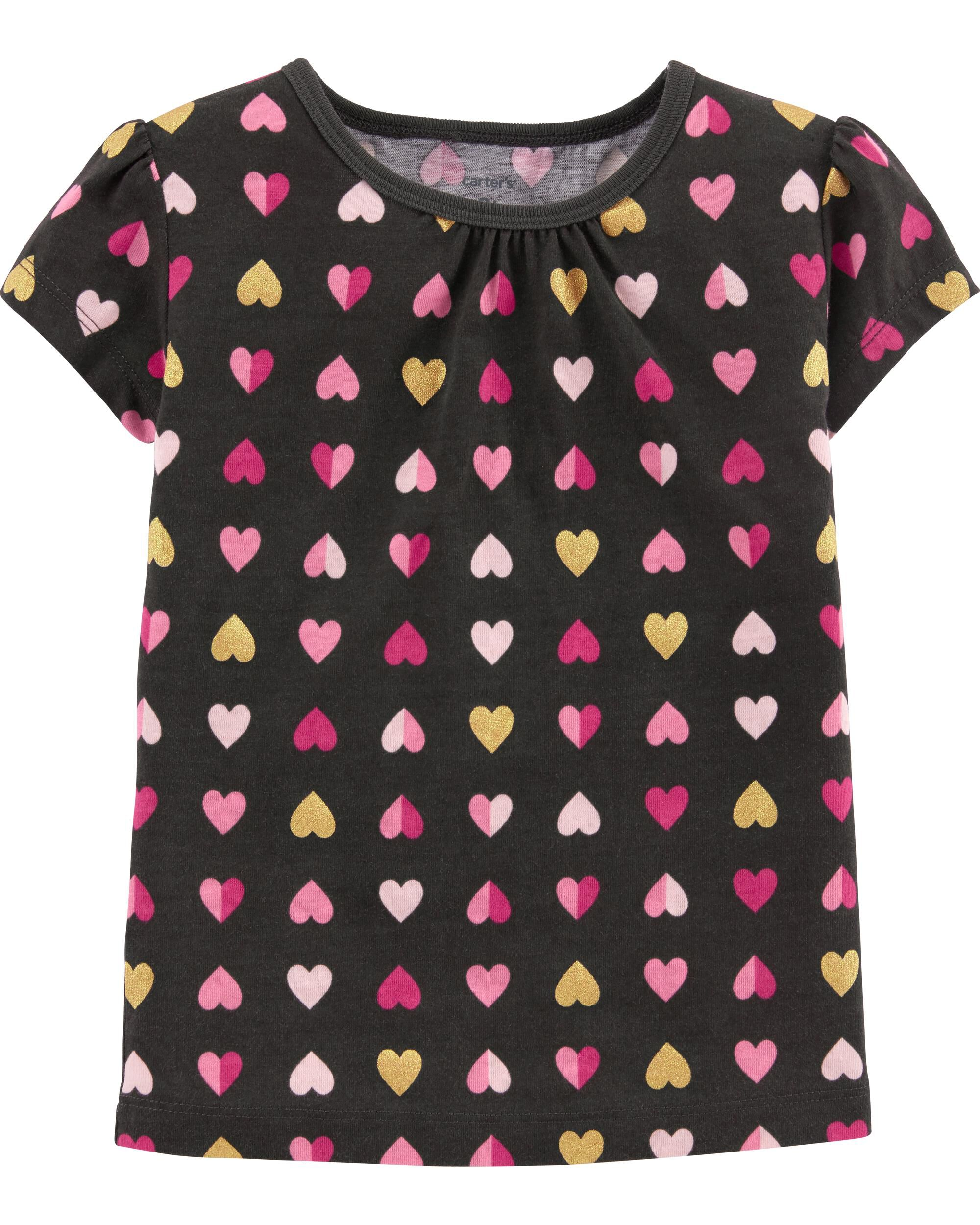 *Clearance*  Heart Jersey Tee