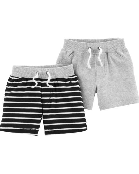 *Clearance*  2-Pack Pull-On Shorts