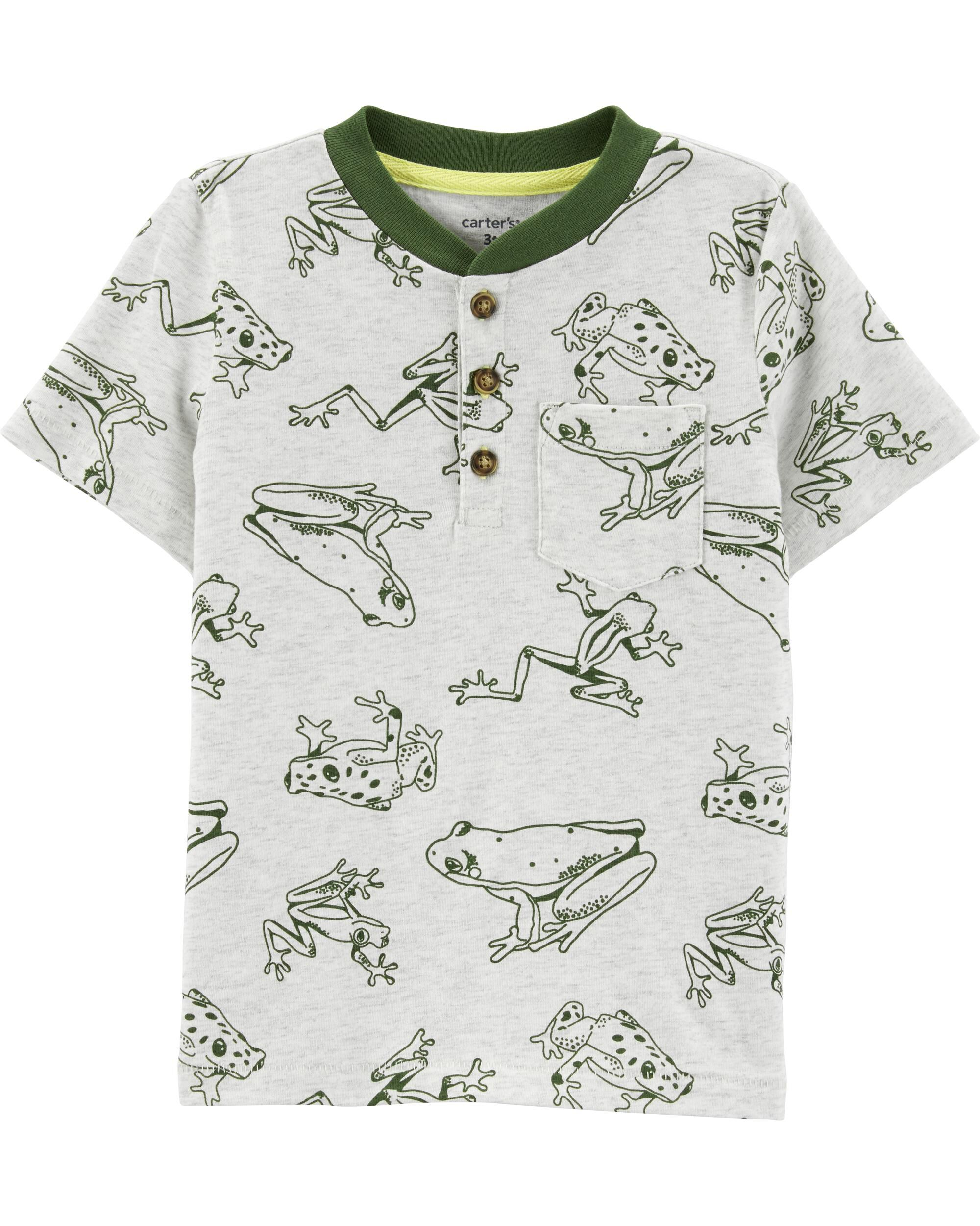 *Clearance*  Frog Jersey Henley