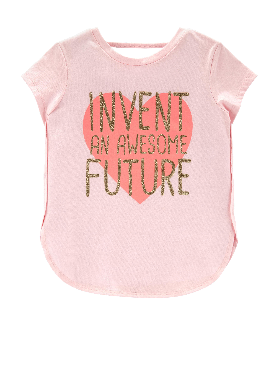 *Clearance*  Awesome Future Hi-Lo Slub Tee