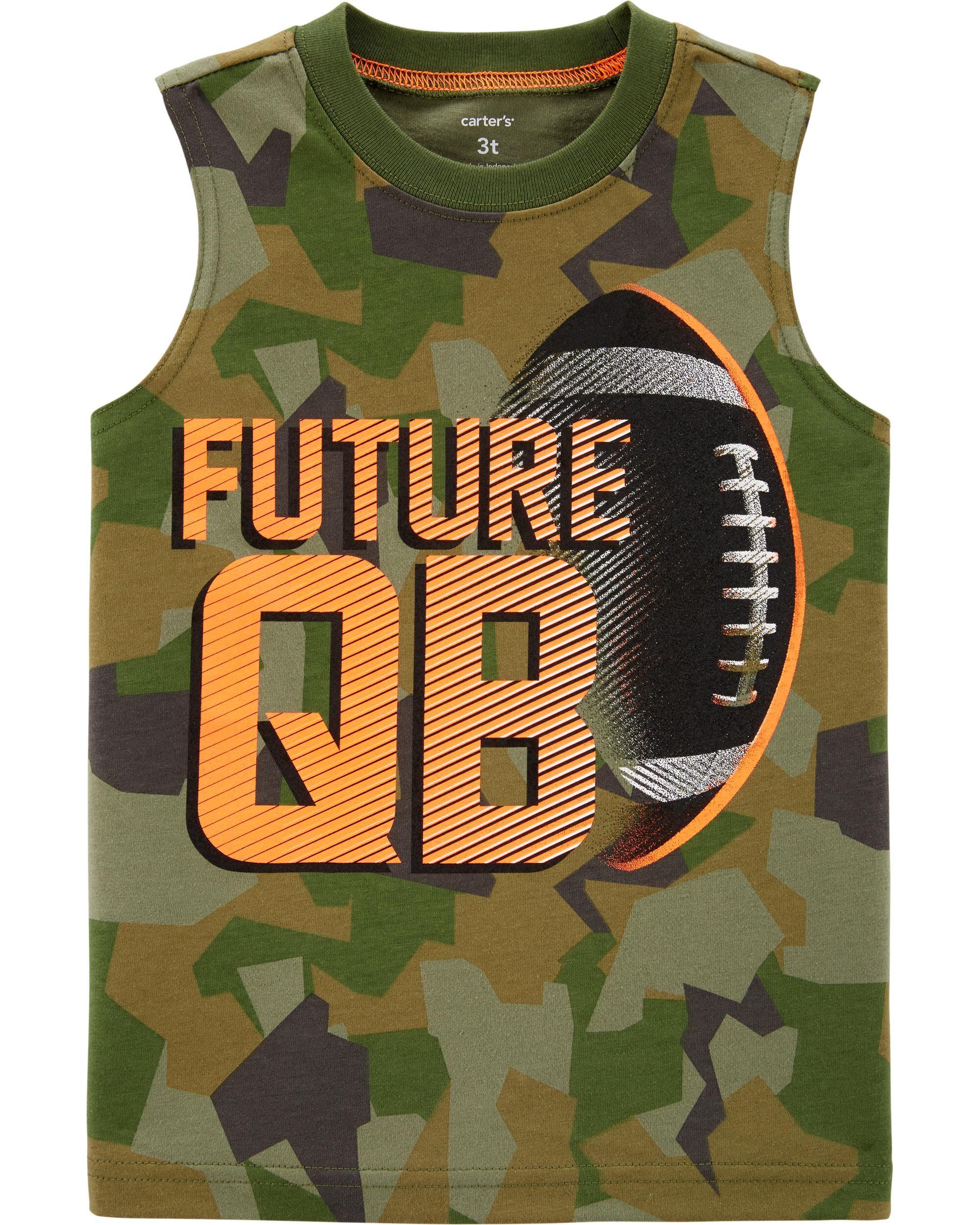 *Clearance*  Future QB Football Jersey Tank