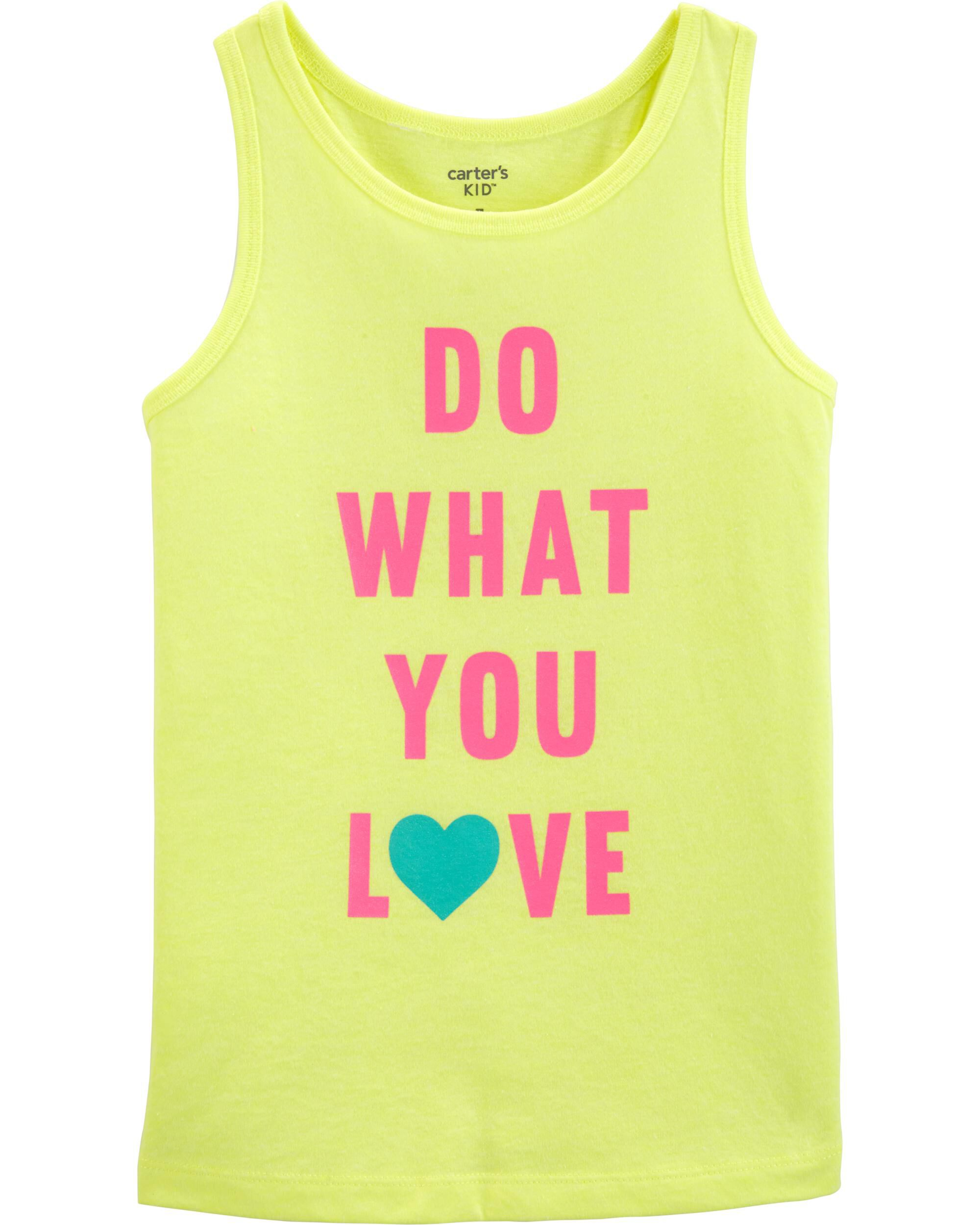 *Clearance*  Neon Do What You Love Tank