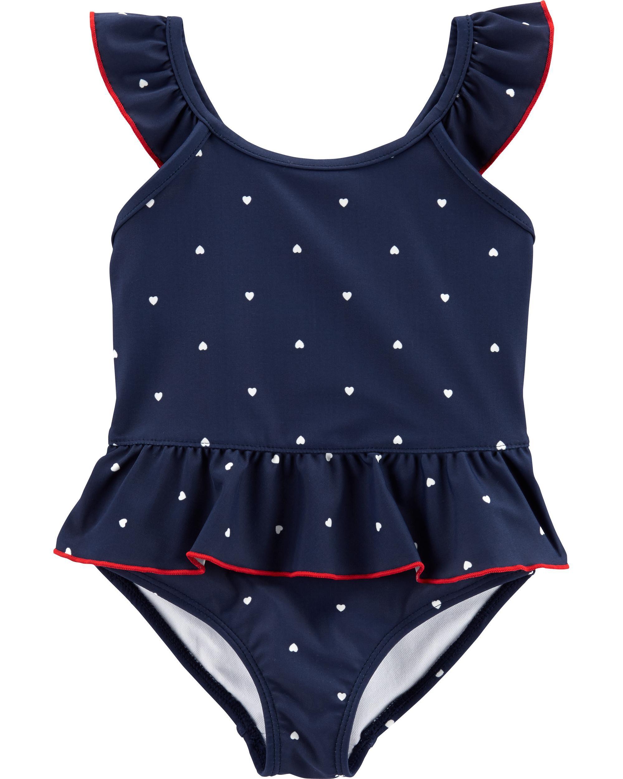 *Clearance*  Carter's Heart 1-Piece Swimsuit