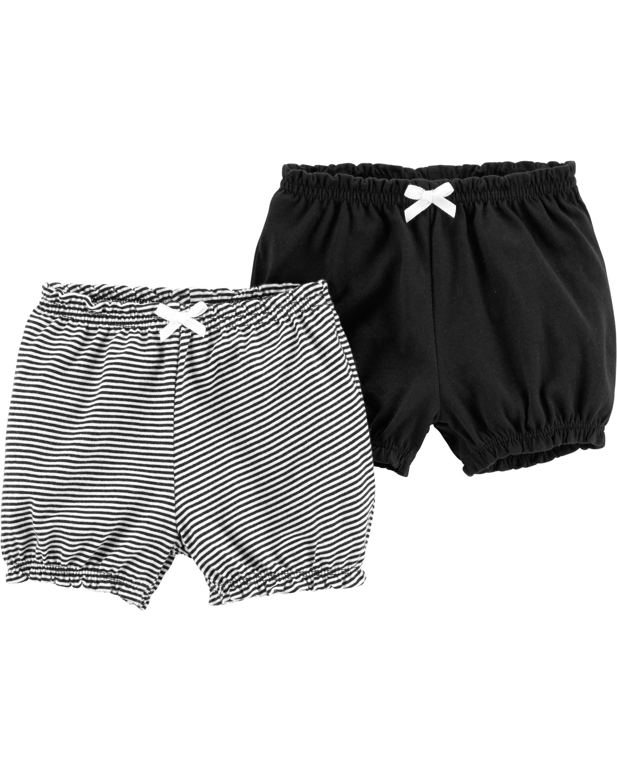*Clearance*  2-Pack Pull-On Bubble Shorts
