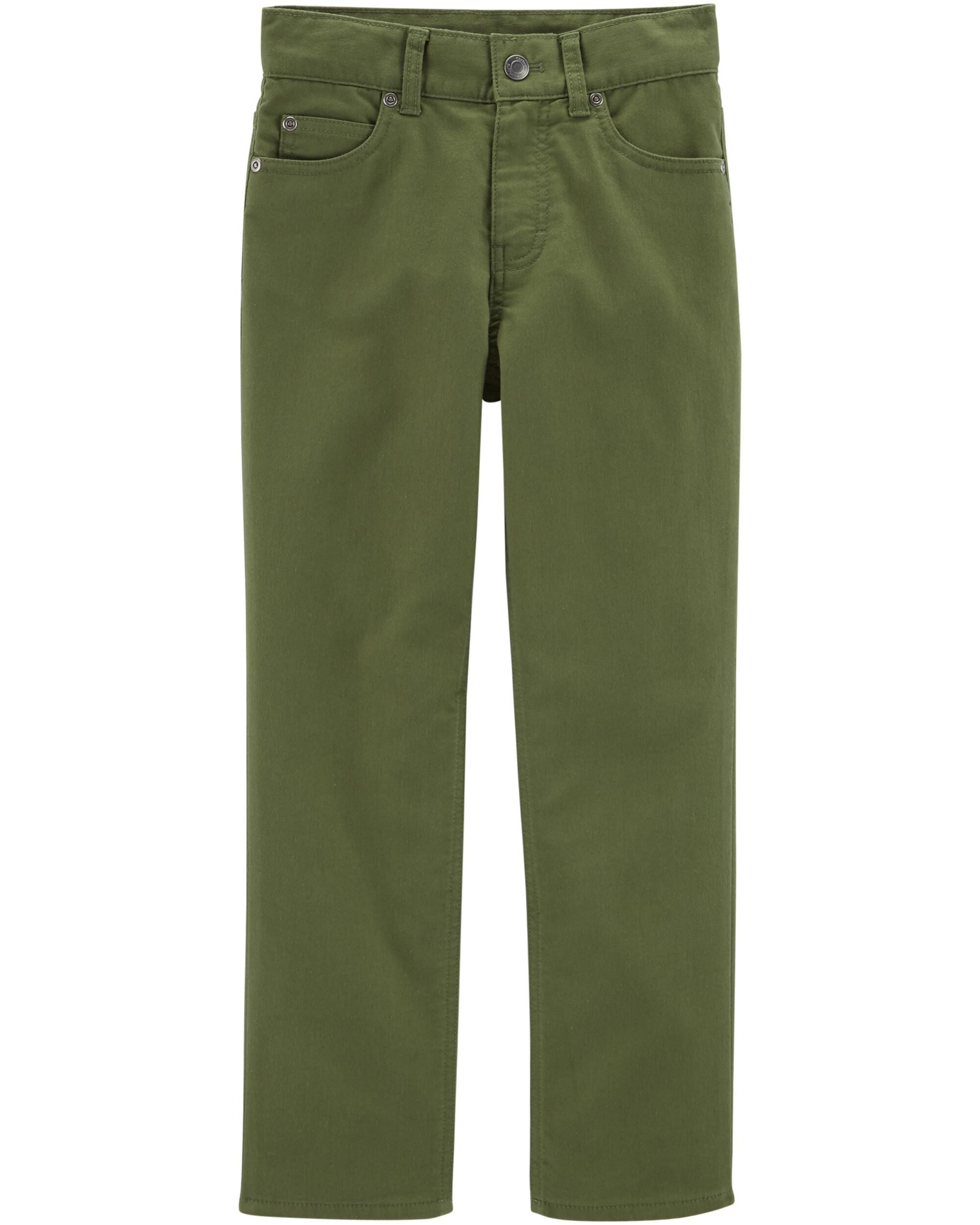 *Clearance*  Straight Fit High Stretch Pants