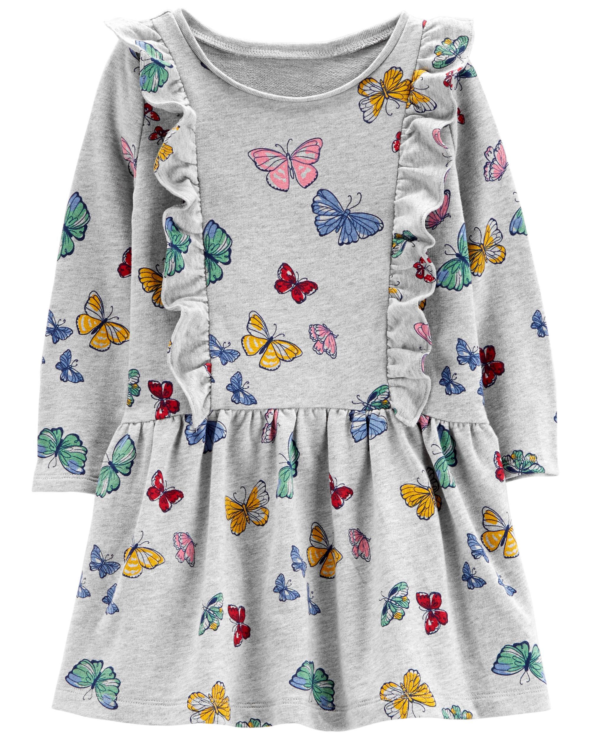 *Clearance*  Butterfly Ruffle Dress