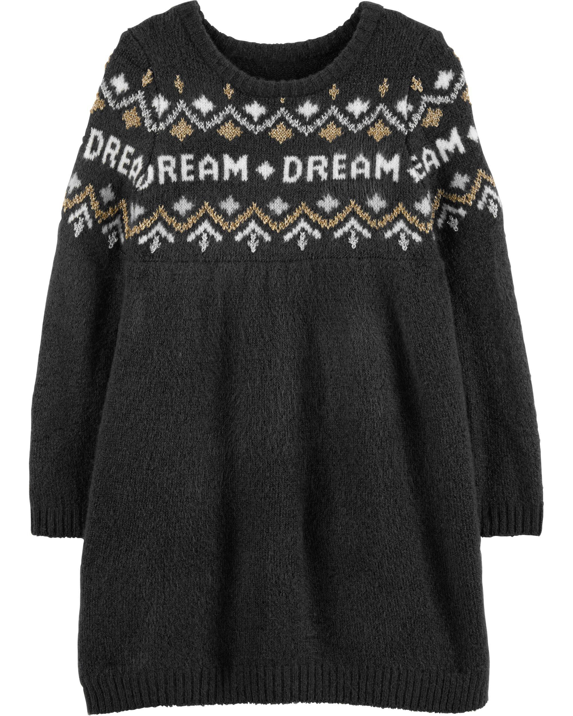 *Clearance*  Glitter Dream Sweater Dress