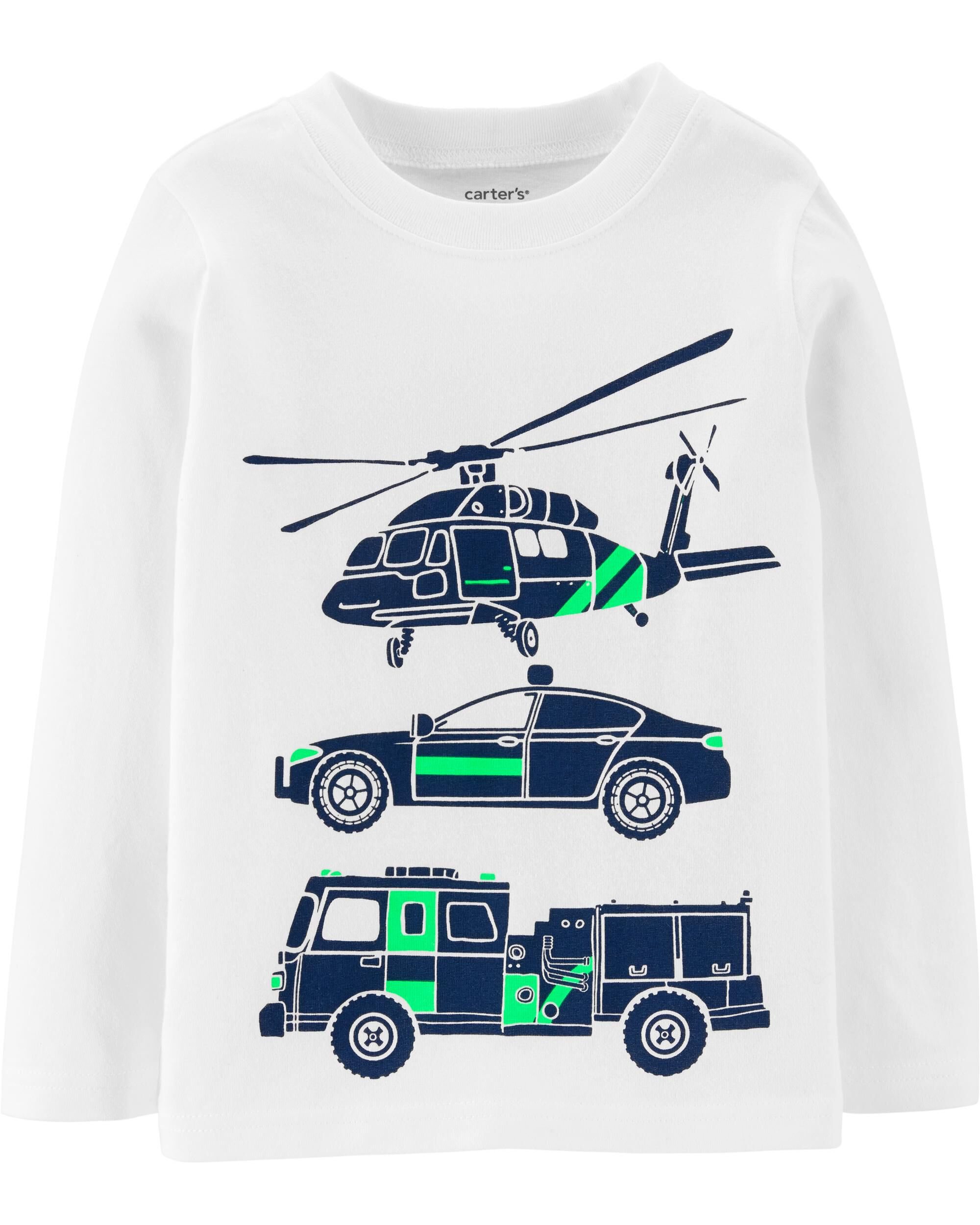 *Clearance*  Rescue Vehicle Jersey Tee