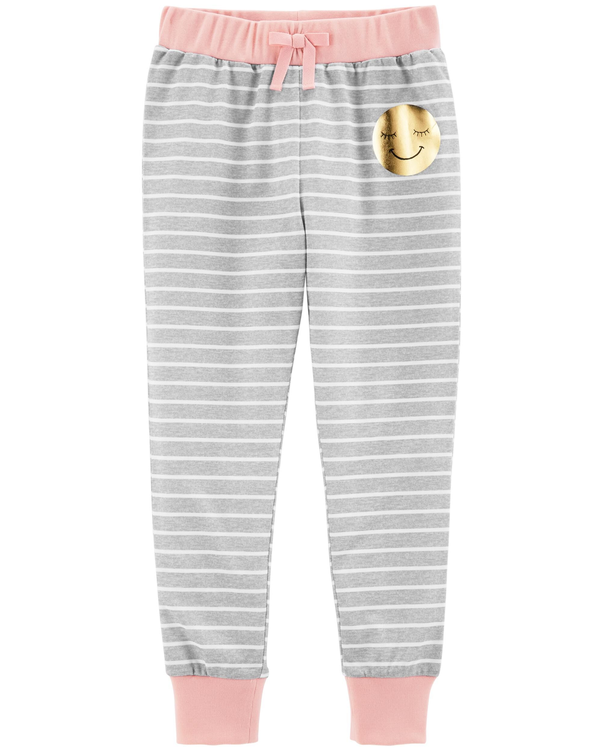 *Clearance*  Striped French Terry Sleep Joggers
