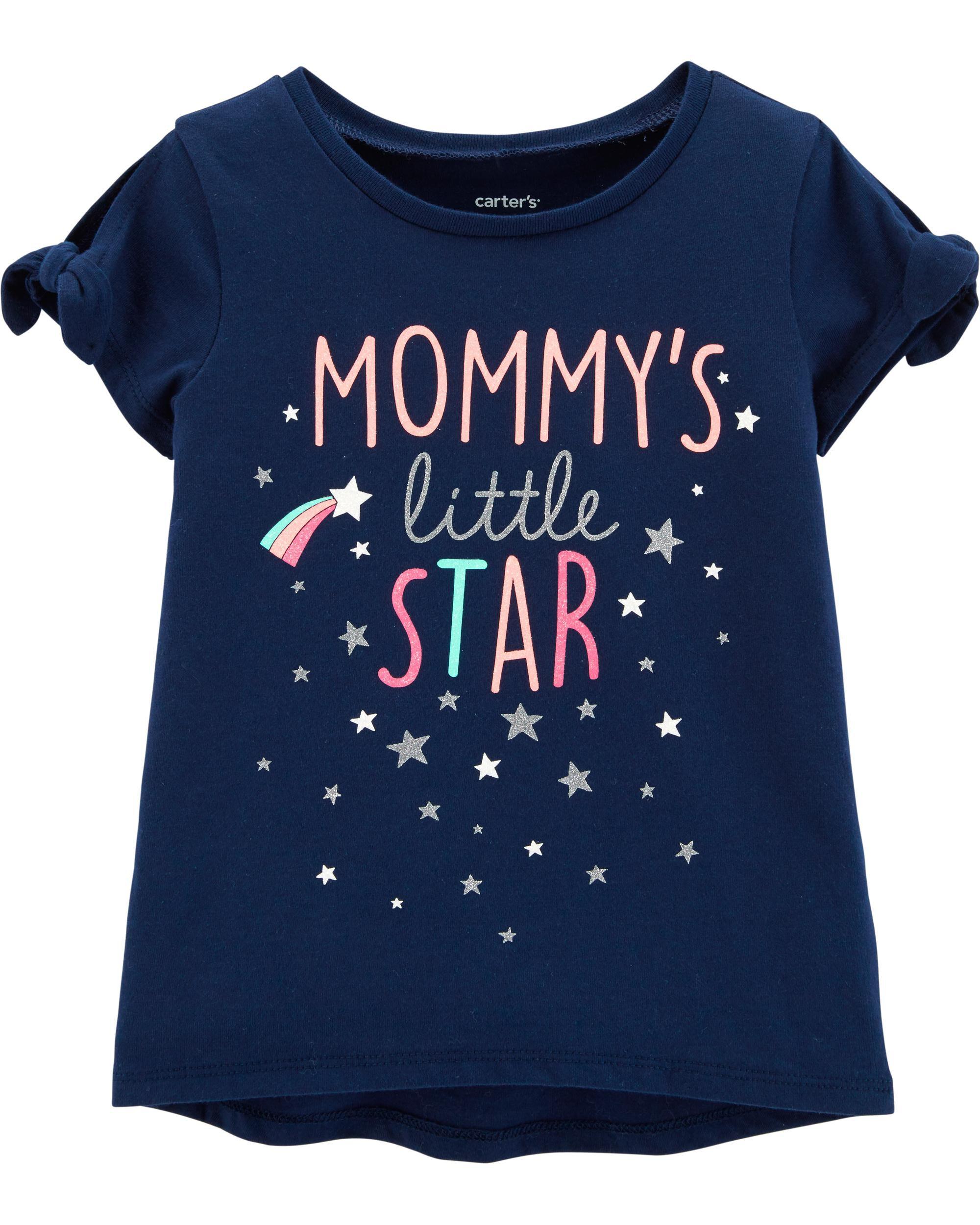 *Clearance*  Mommy's Little Star Hi-Lo Tee