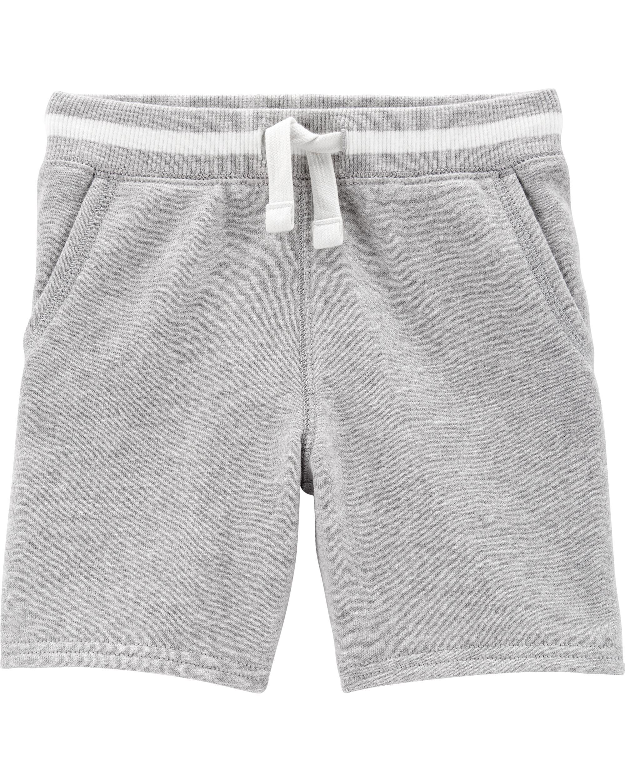 *Clearance*  Pull-On French Terry Shorts