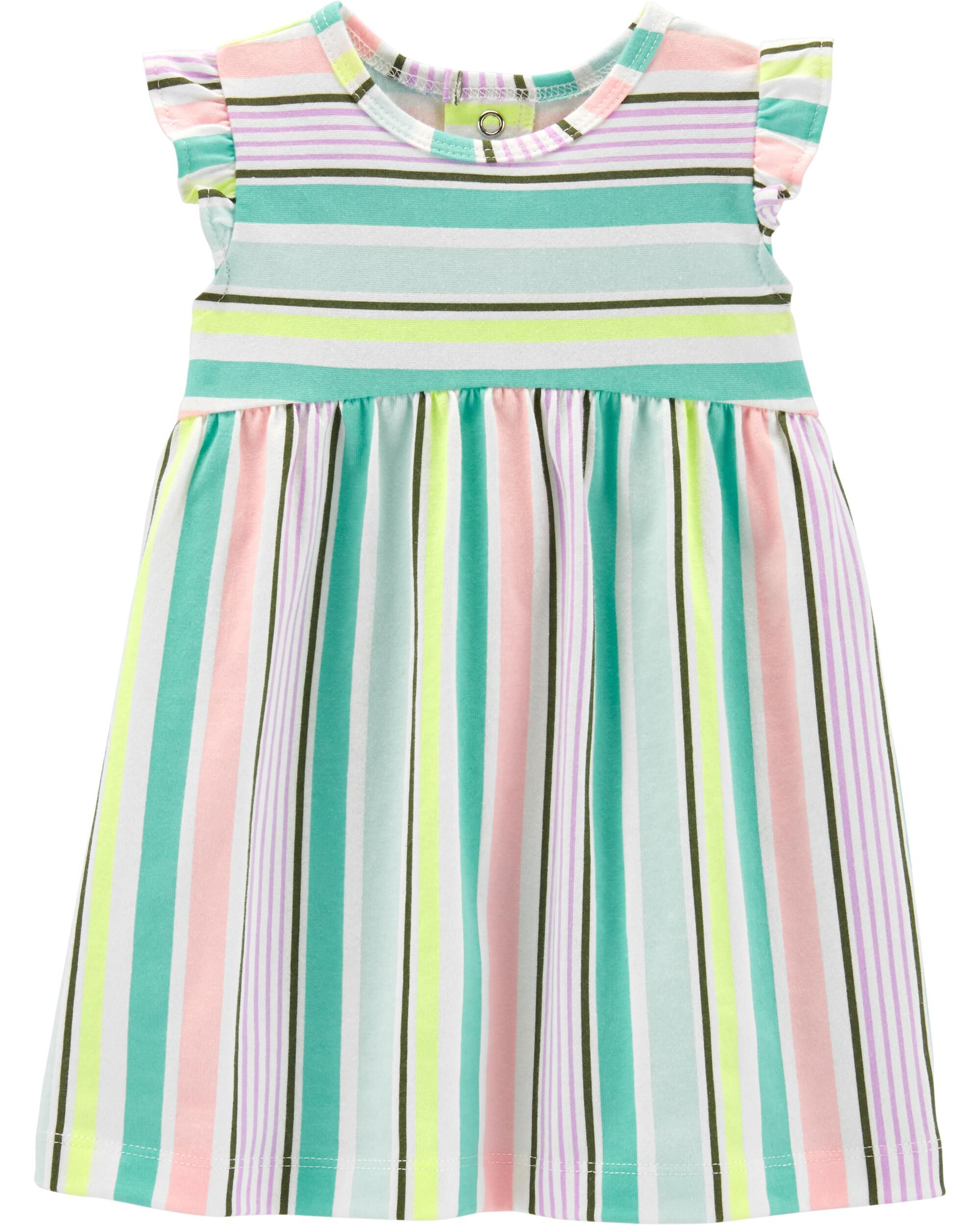 *Clearance*  Striped Jersey Dress