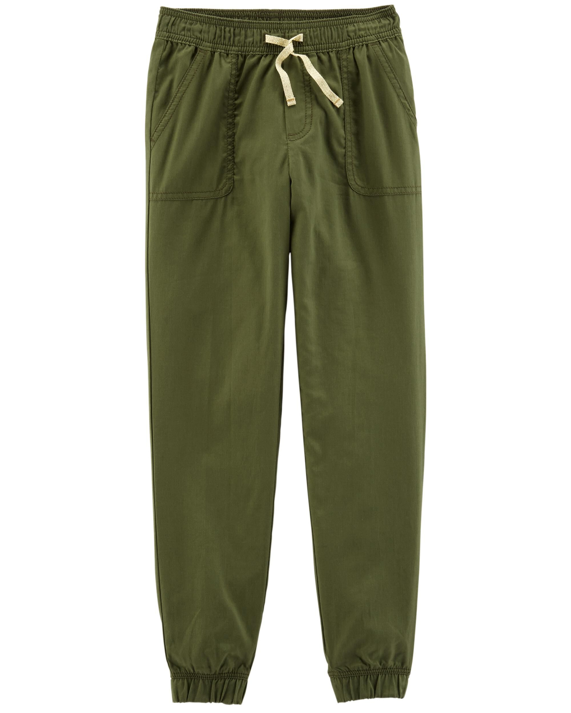 *Clearance*  Pull-On Twill Pants