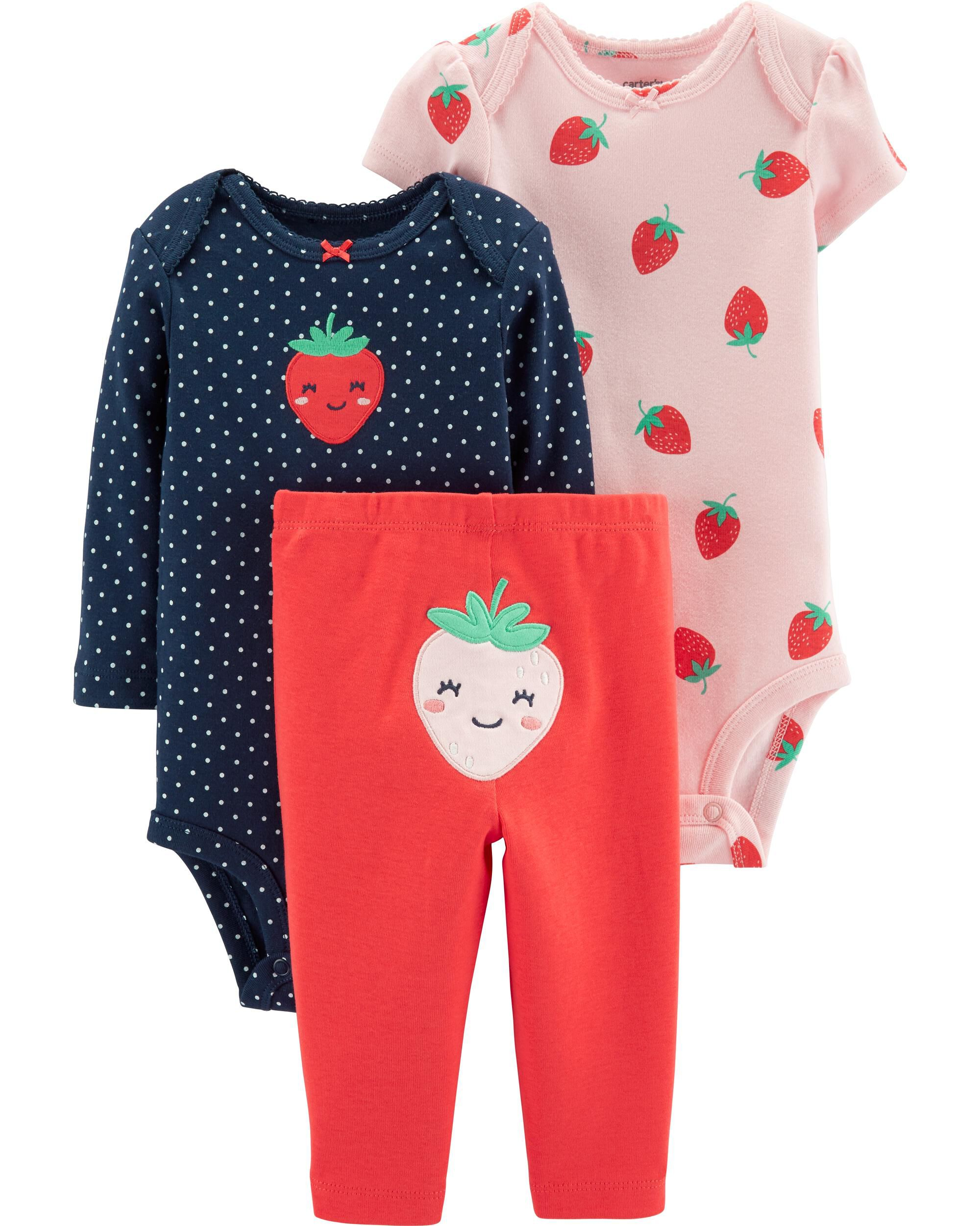 *Clearance*  3-Piece Strawberry Little Character...