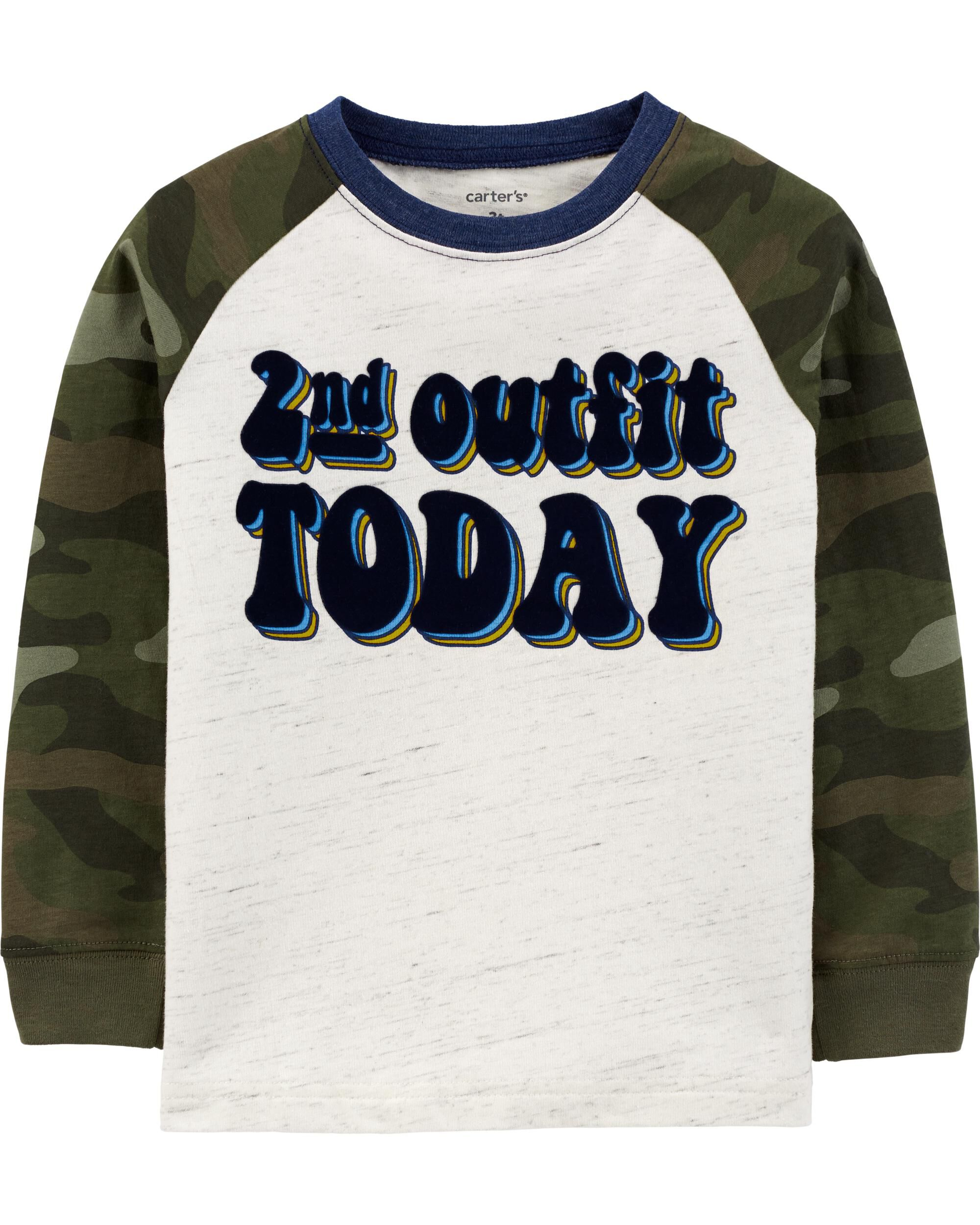 2nd Outfit Today Raglan Jersey Tee