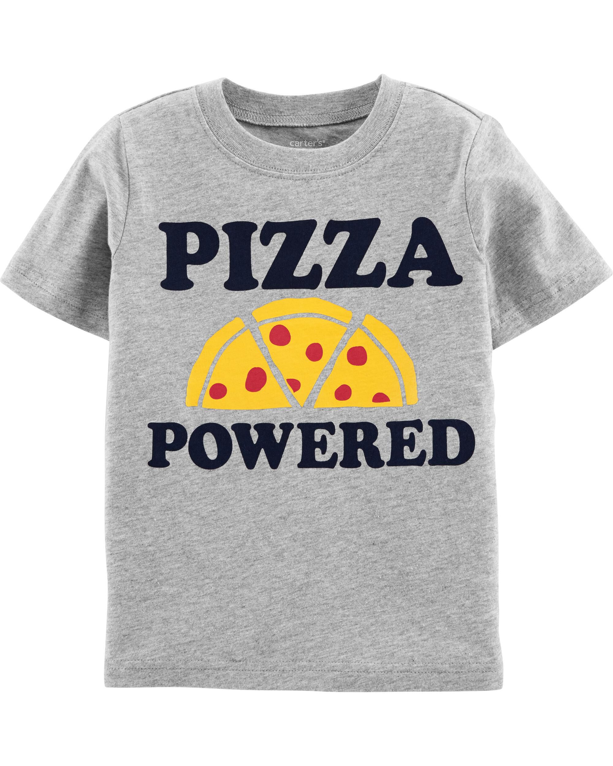 *Clearance*  Pizza Powered Jersey Tee