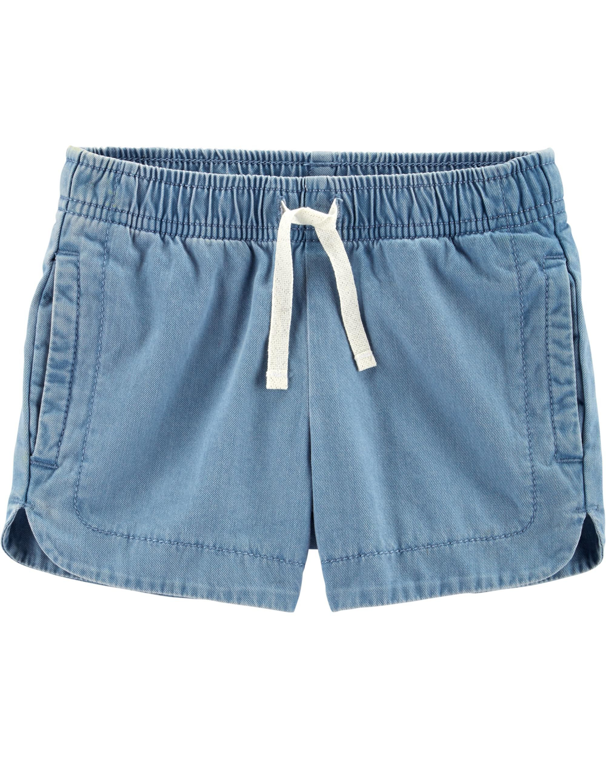 *Clearance*  Pull-On Cotton Shorts