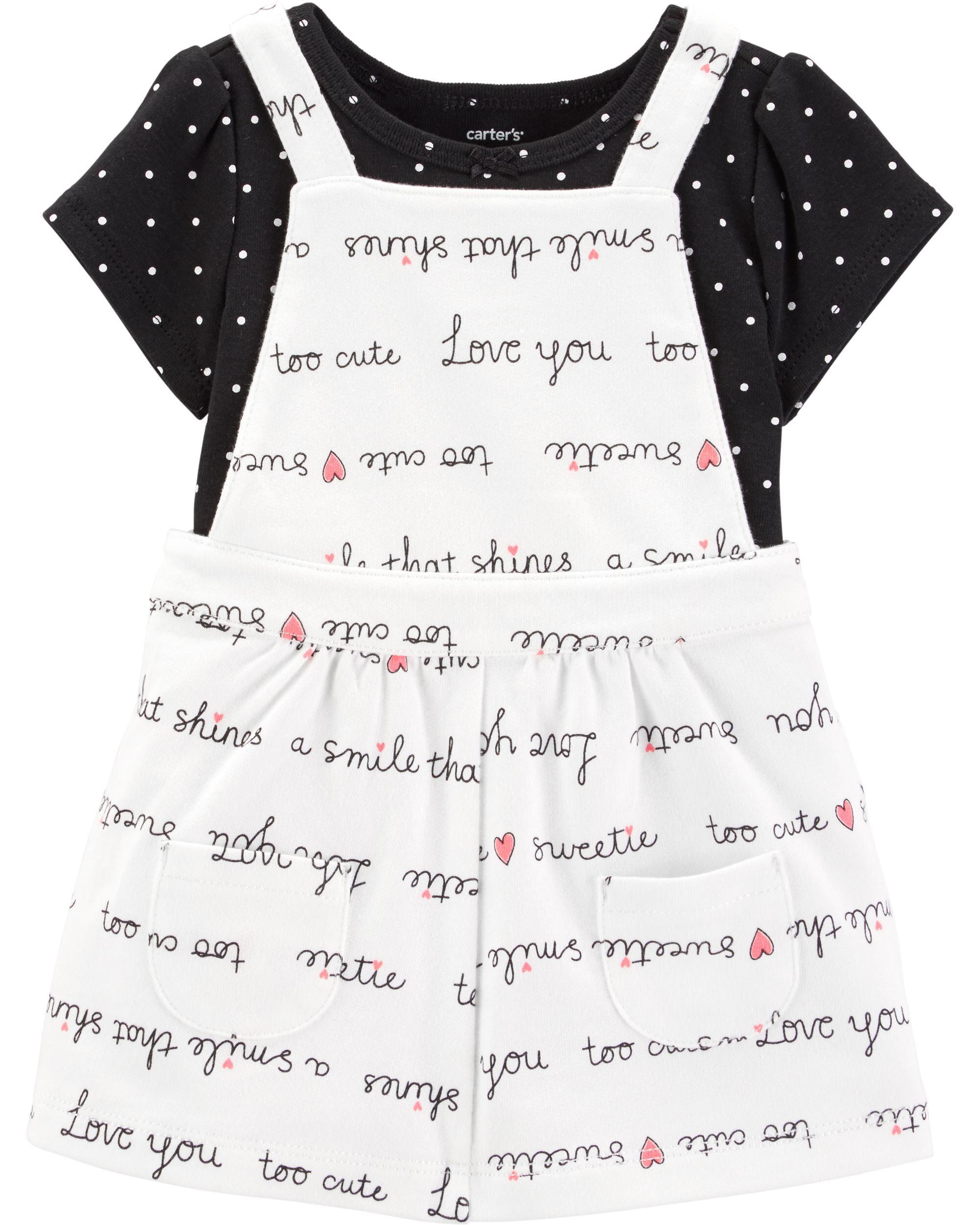 *Clearance*  2-Piece Polka Dot Bodysuit & Skirta...