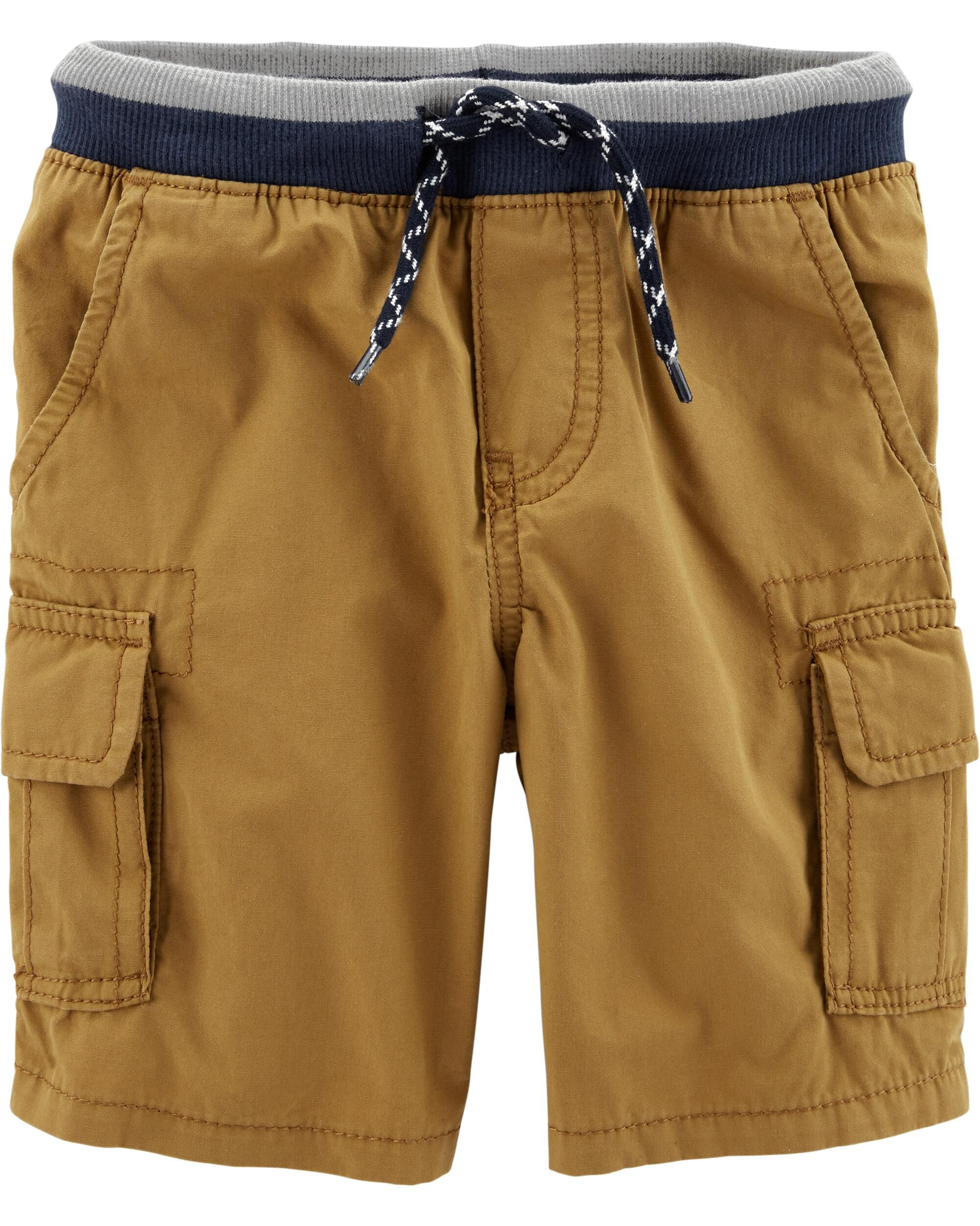 *Clearance*  Pull-On Cargo Shorts