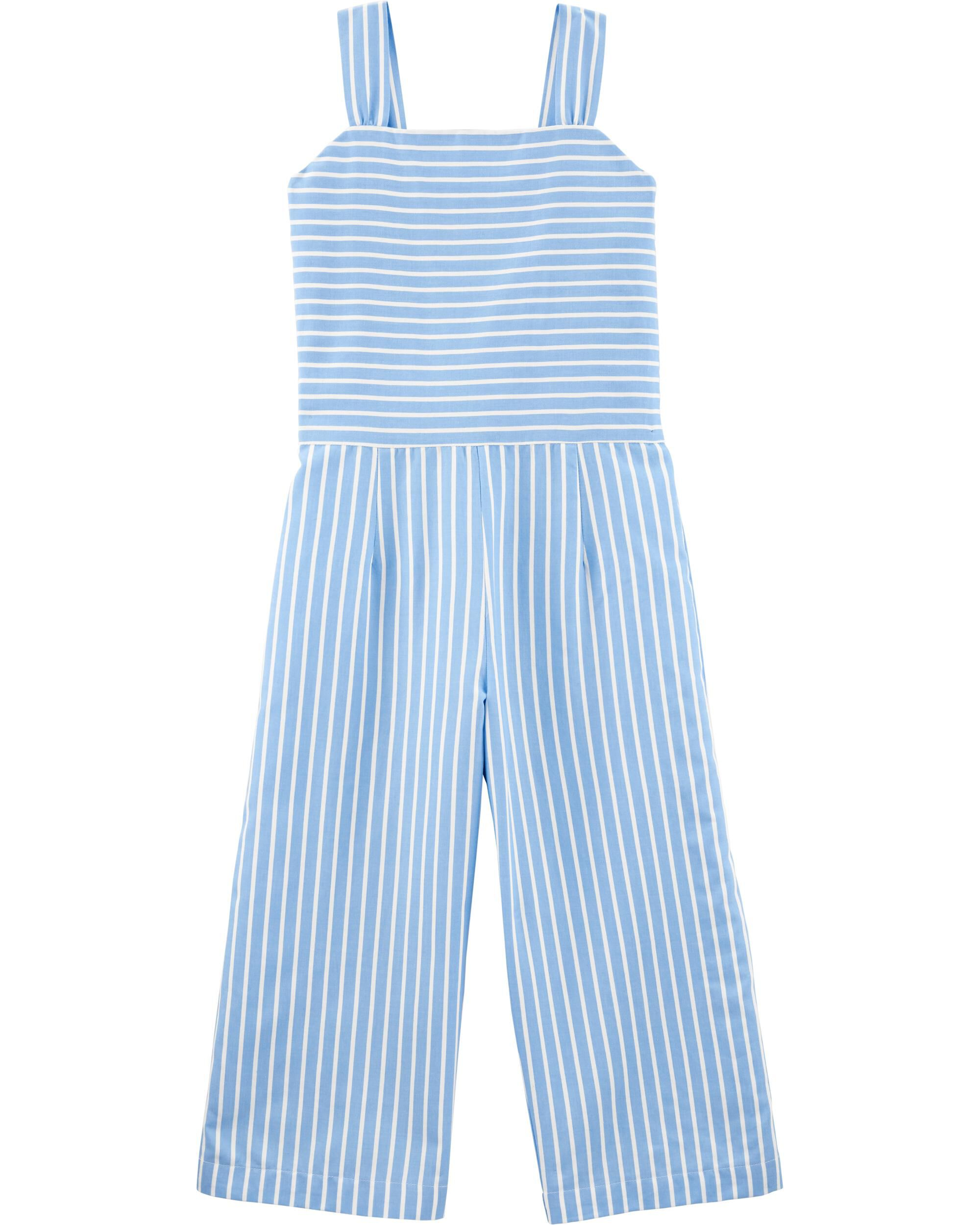 *Clearance*  Striped Tank Jumpsuit