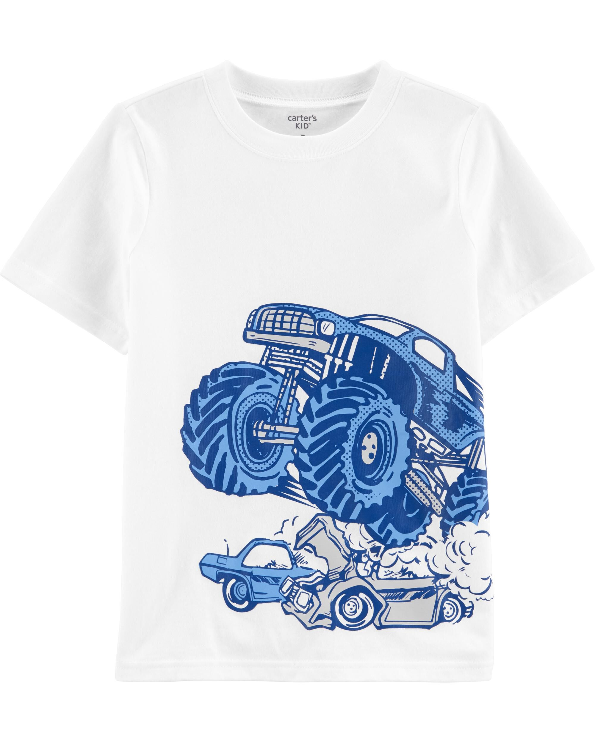 *Clearance*  Monster Truck Jersey Tee