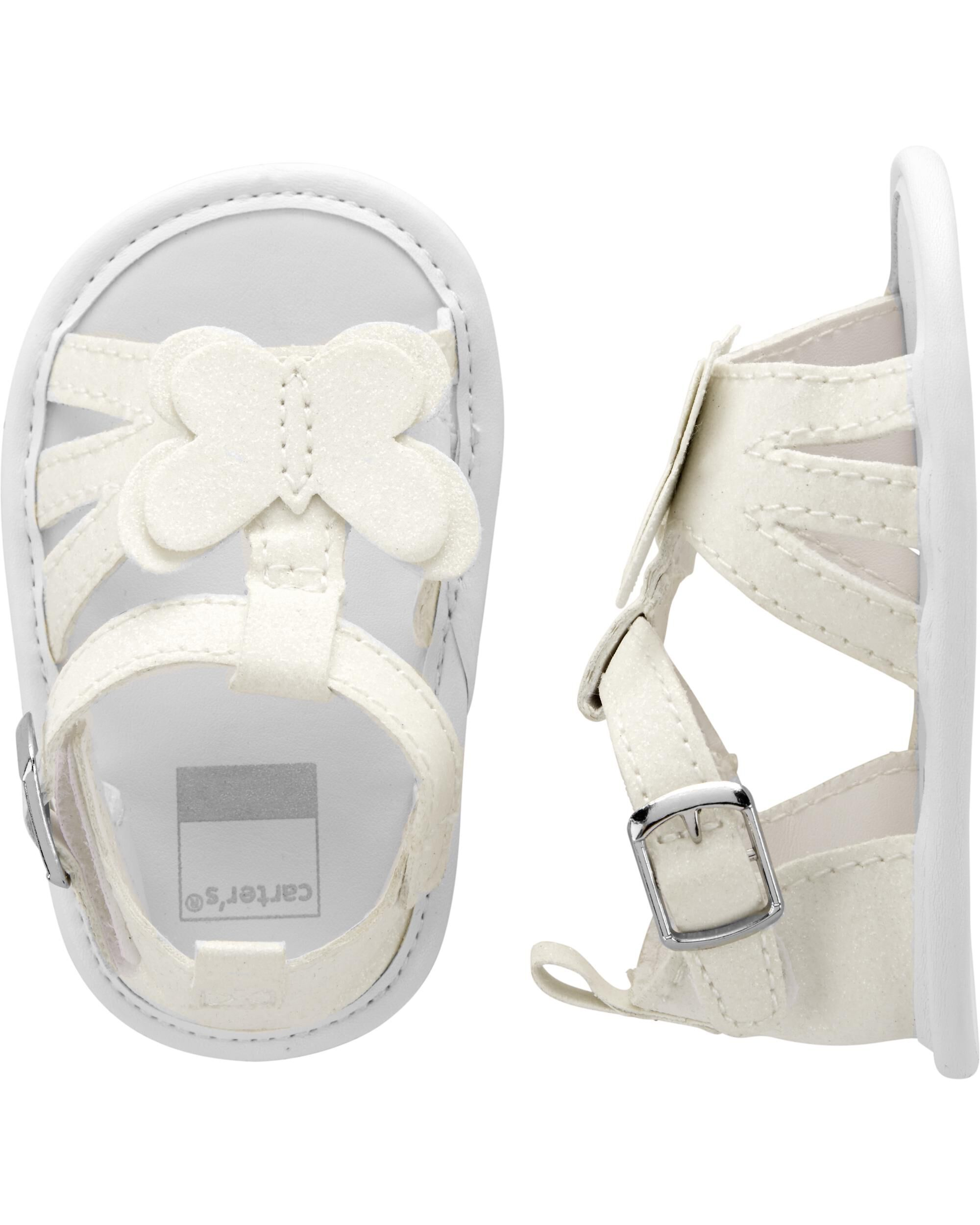 *Clearance*  Carter's Butterfly Sandal Baby Shoe...