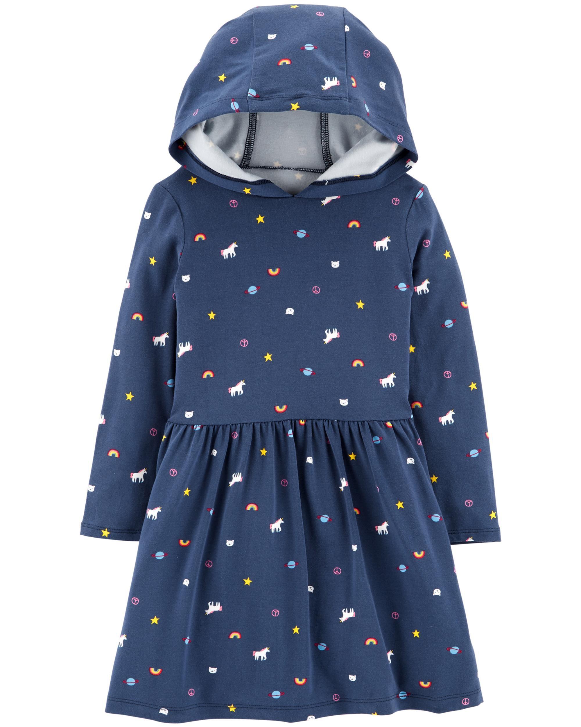 *Clearance*  Hooded Unicorn Dress
