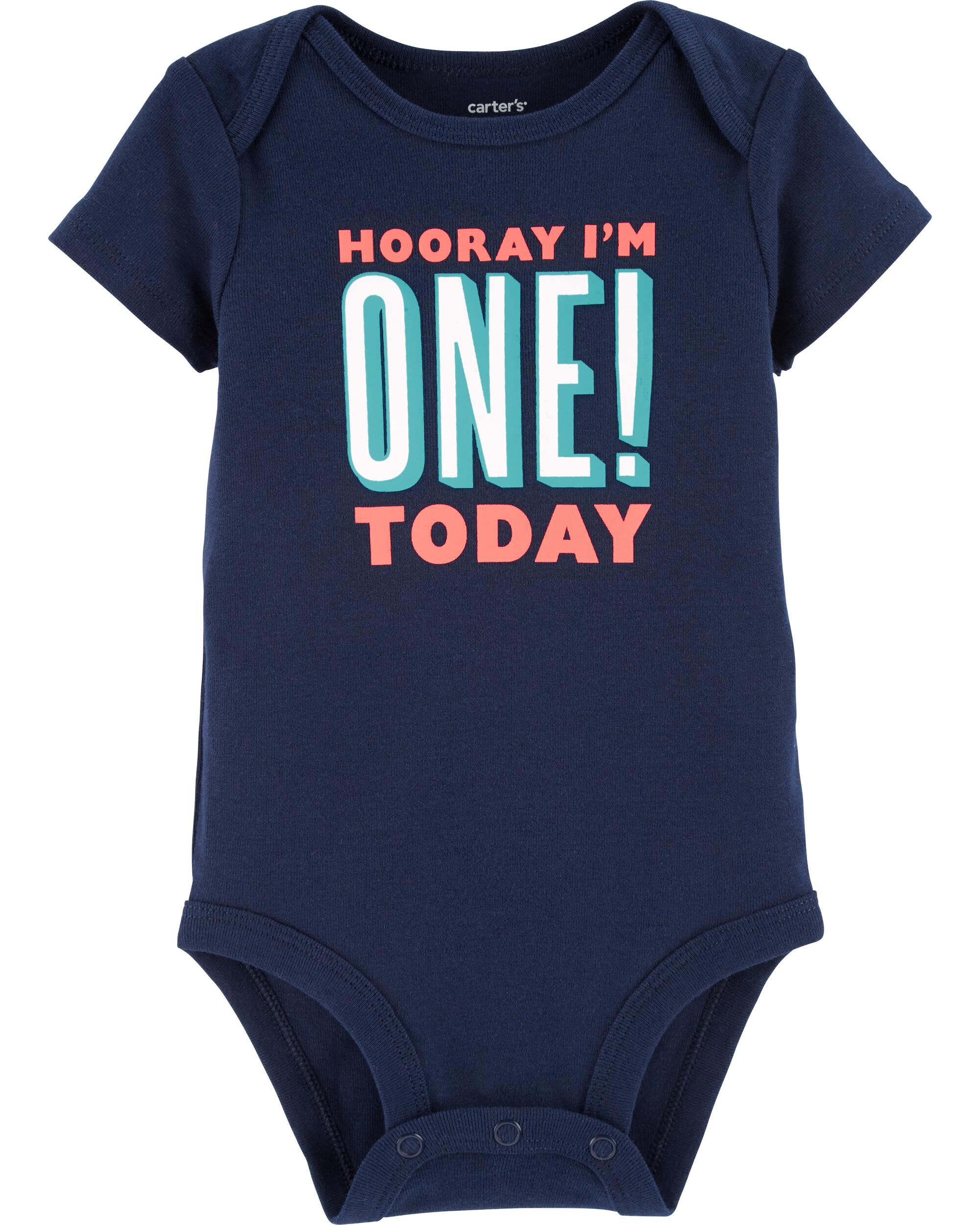 *Clearance*  First Birthday Collectible Bodysuit