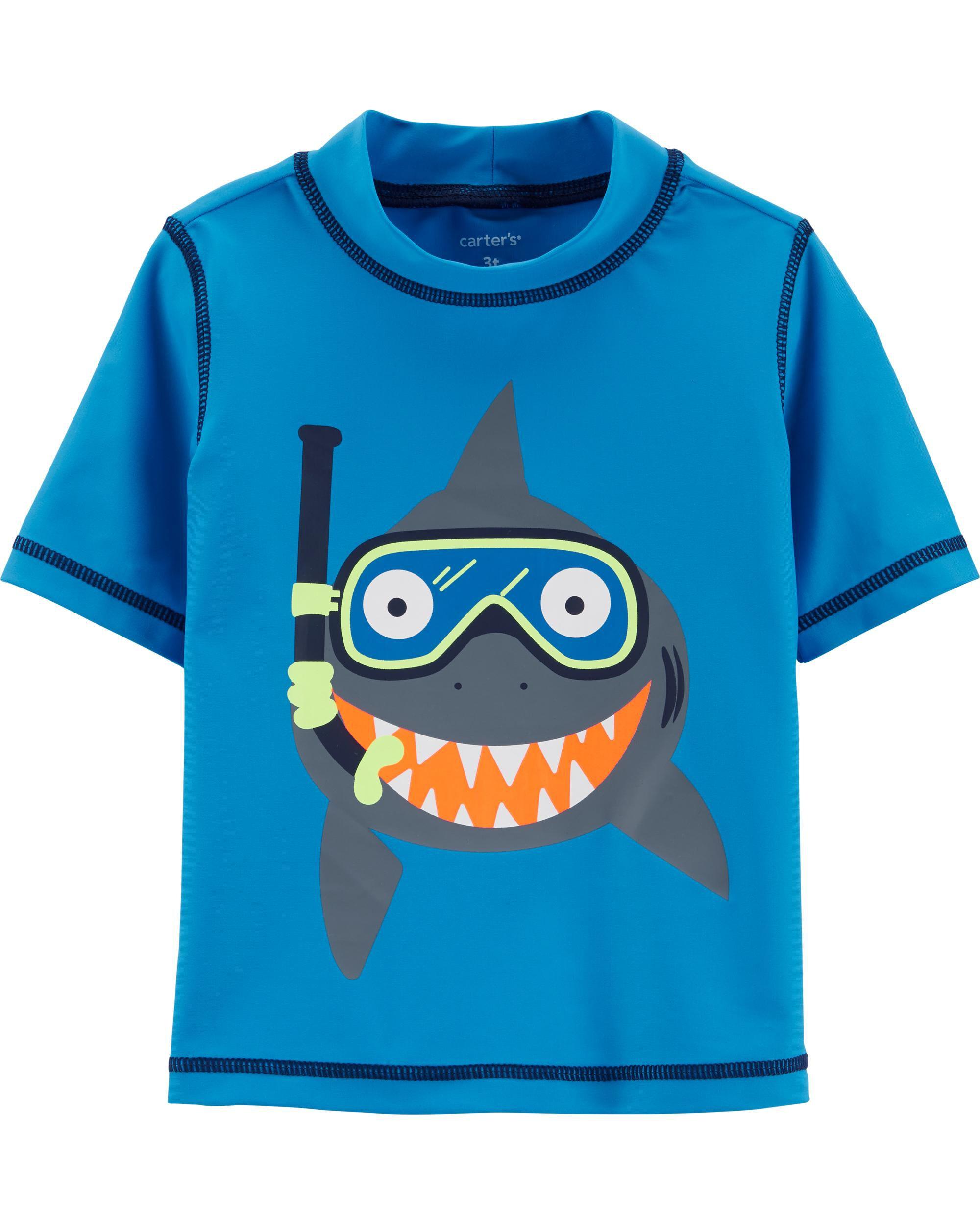 *Clearance*  Carter's Shark Rashguard