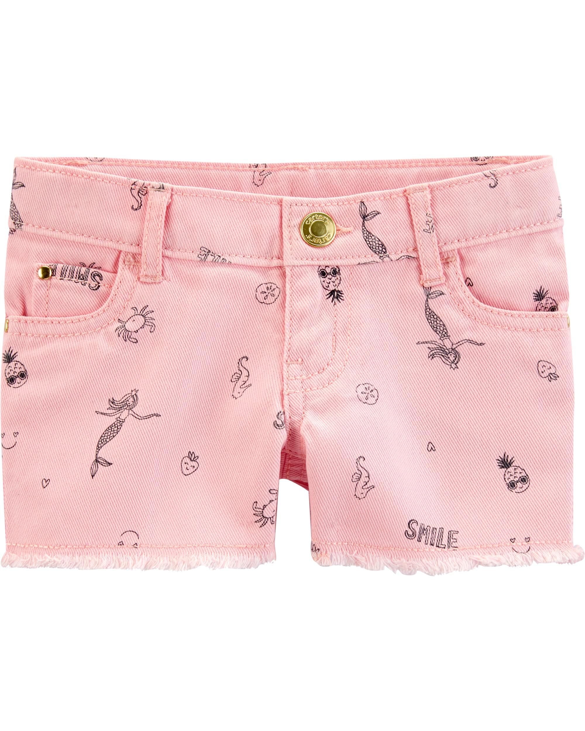 *Clearance*  Mermaid Twill Shorts