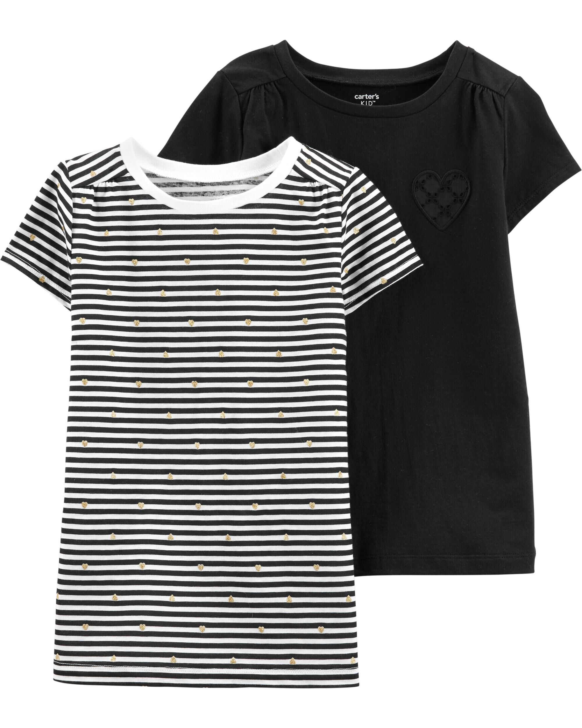 *Clearance*  2-Pack Jersey Tees