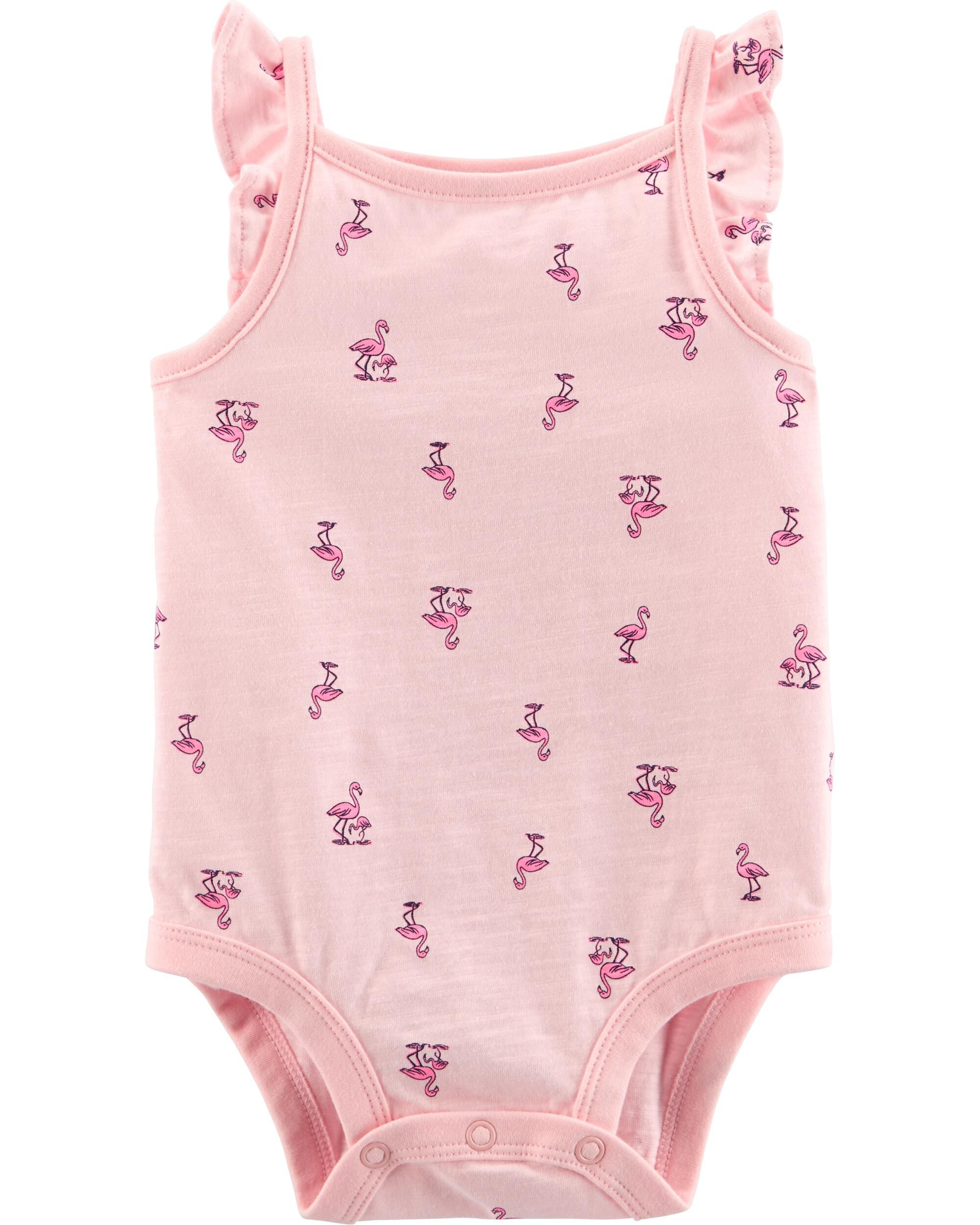 *Clearance*  Flamingo Collectible Bodysuit