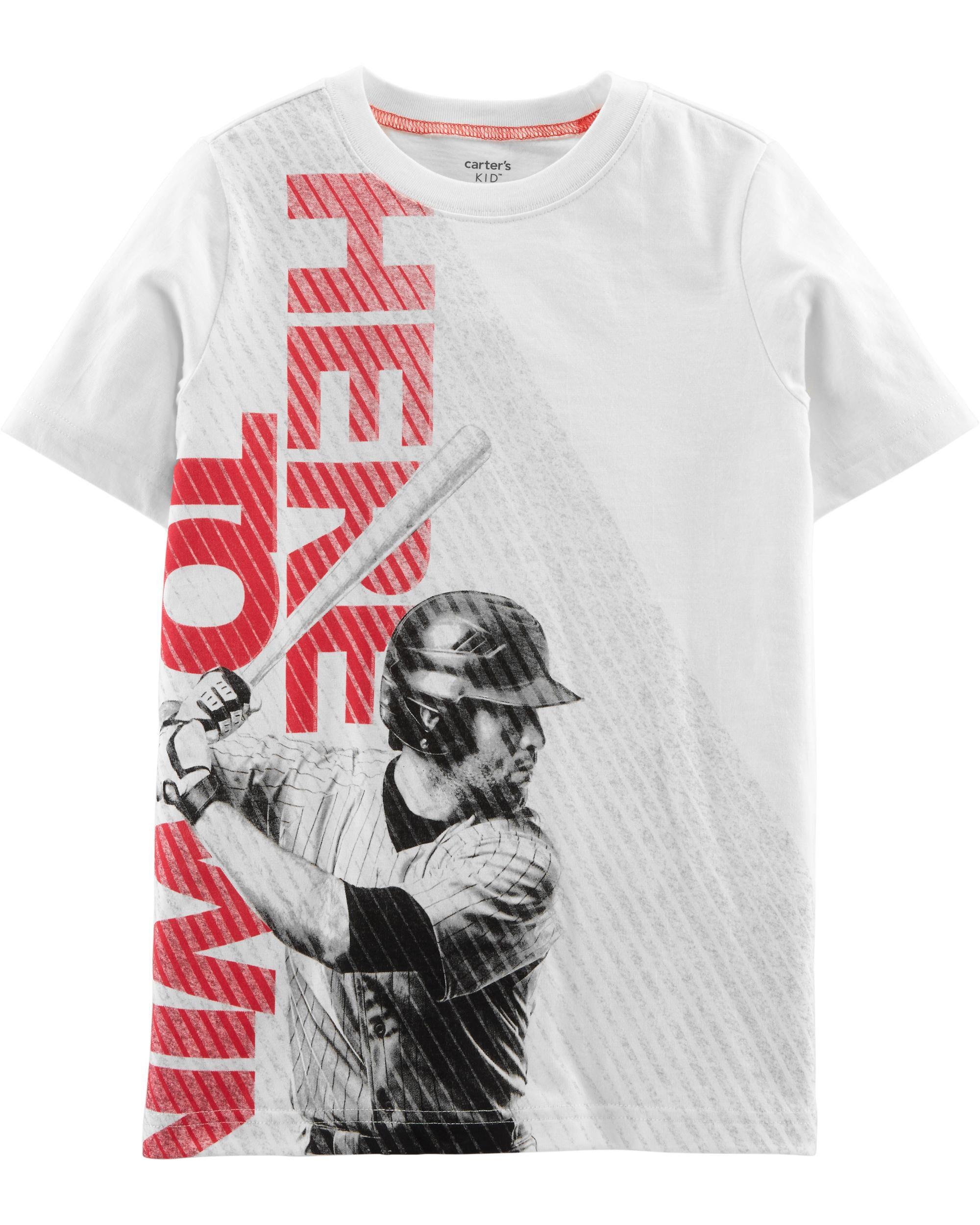 *Clearance*  Baseball Jersey Tee