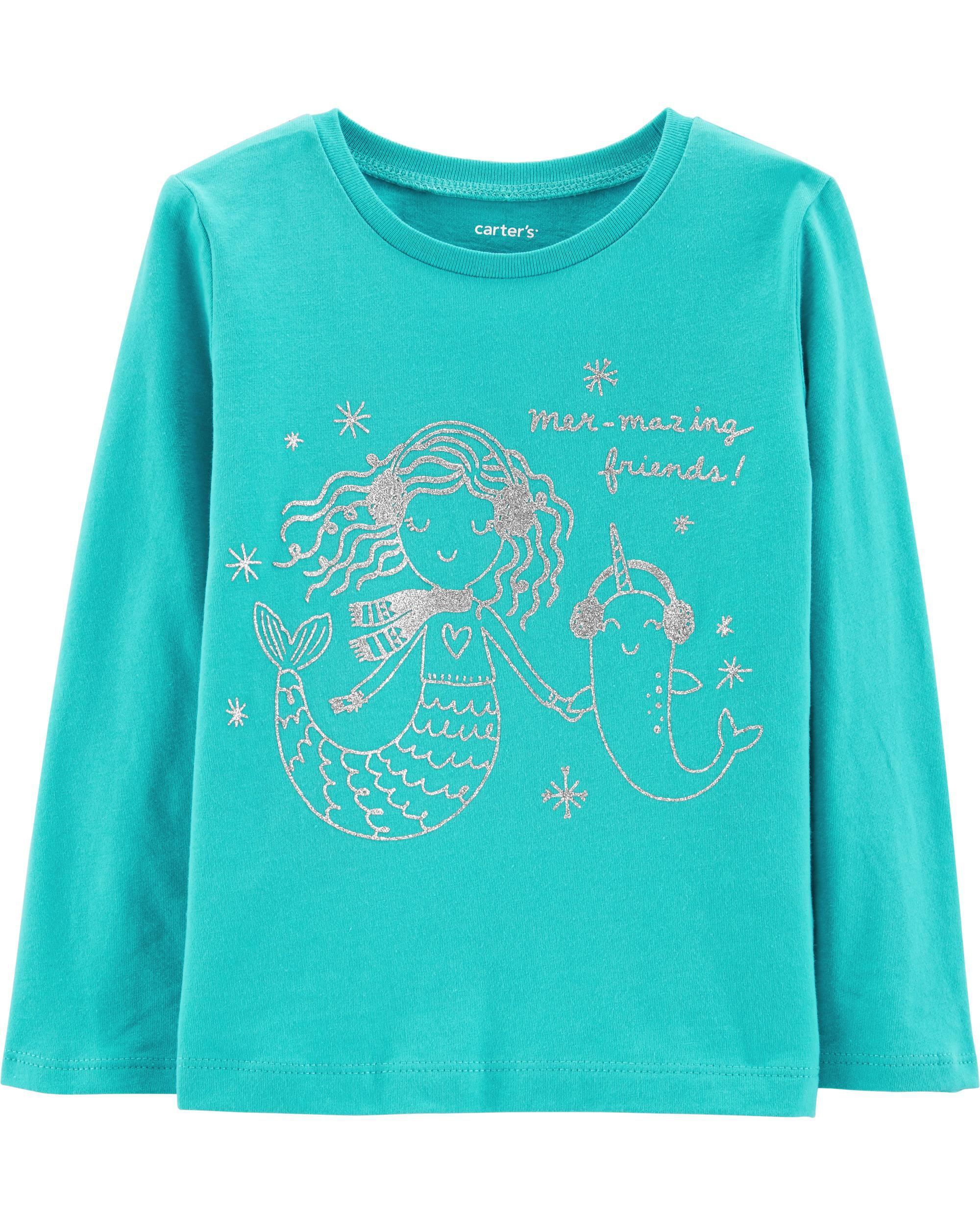*Clearance*  Mermaid Jersey Tee