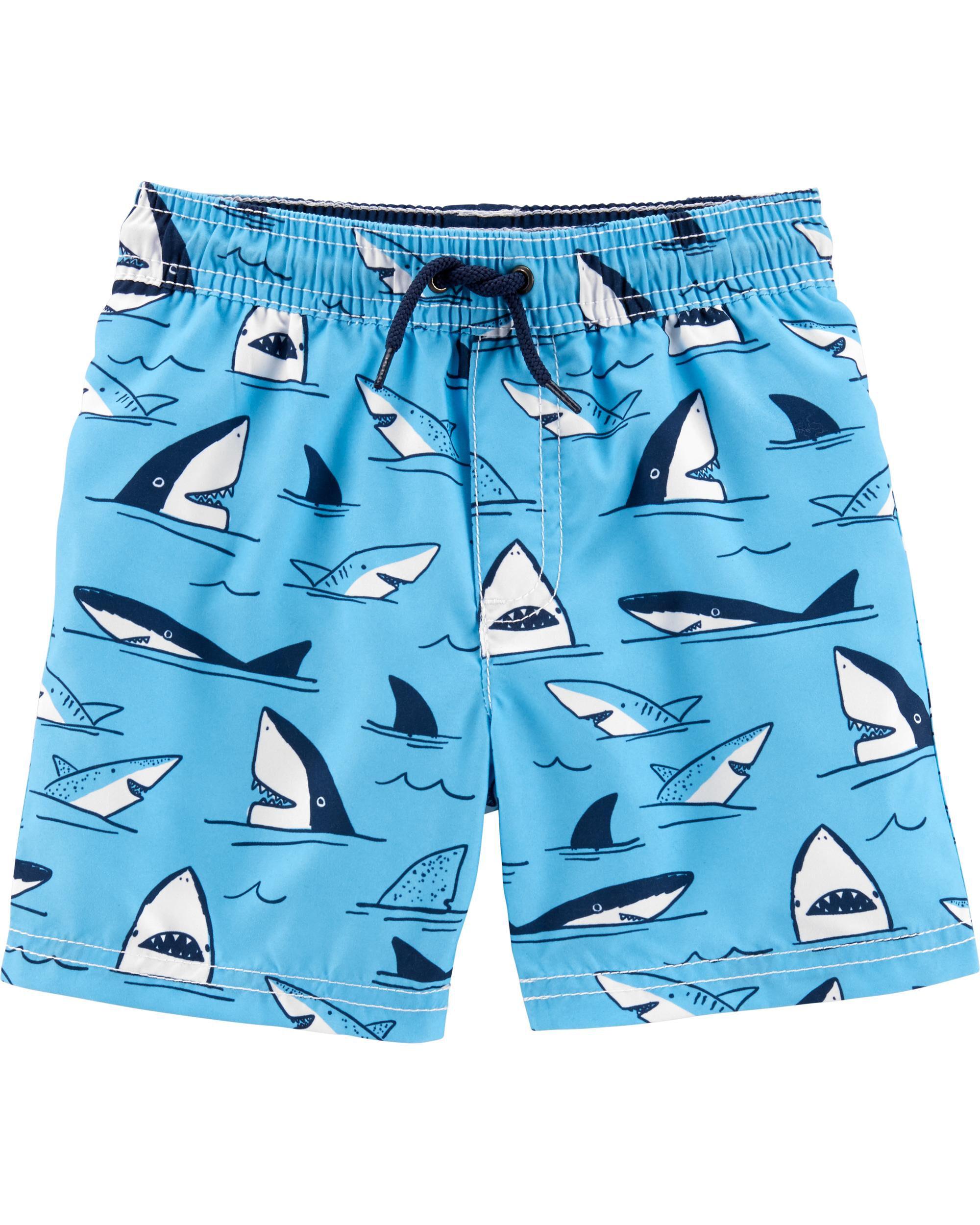 *Clearance*  Carter's Shark Swim Trunks