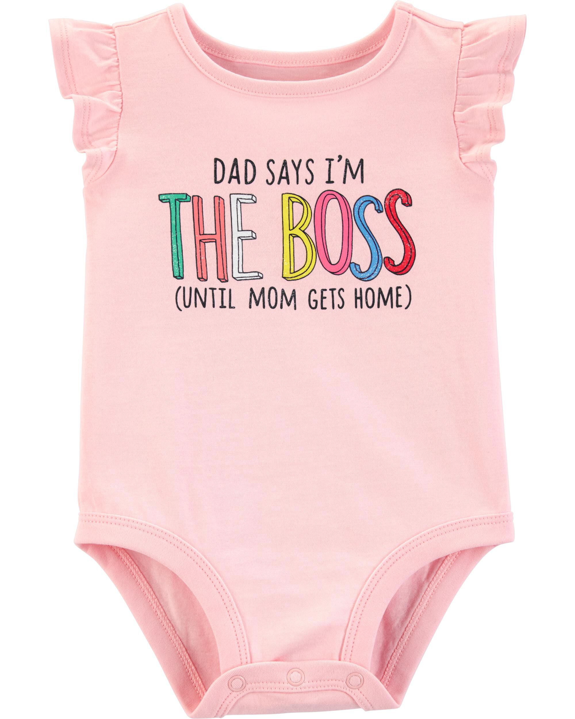 *Clearance*  Dad Says I'm The Boss Collectible B...