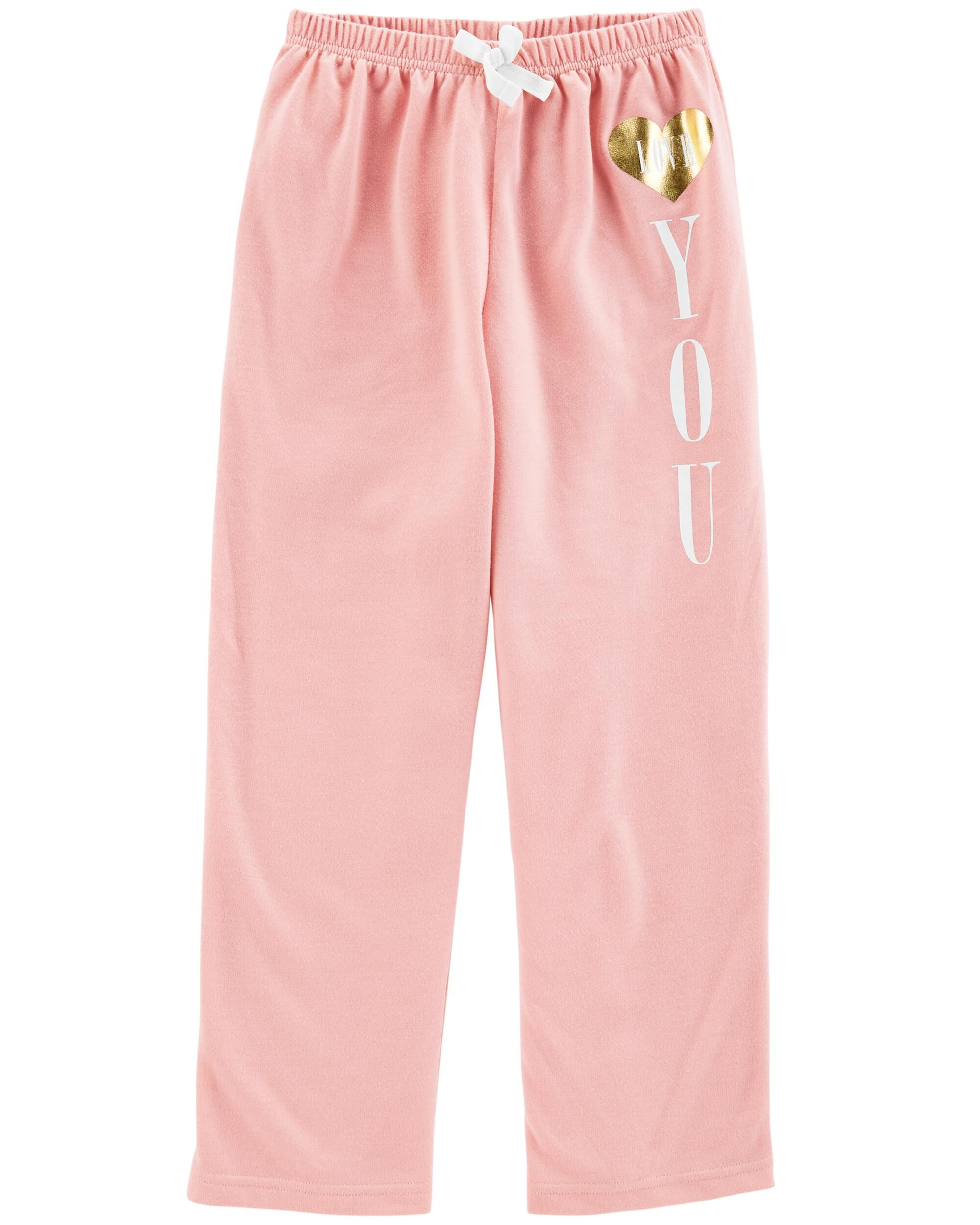 *Clearance*  Love You French Terry Sleep Pants
