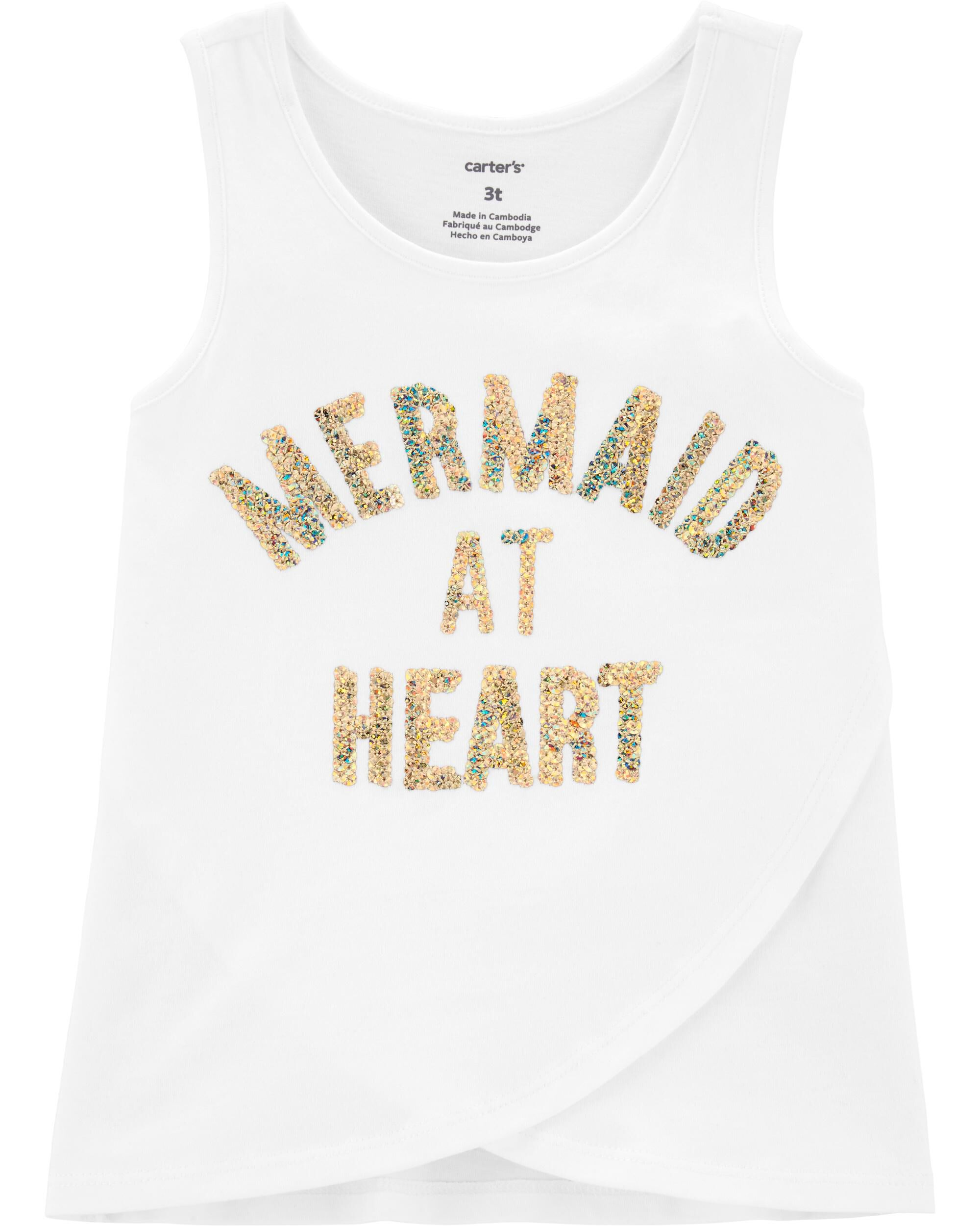 *Clearance*  Mermaid Tulip Front Tank