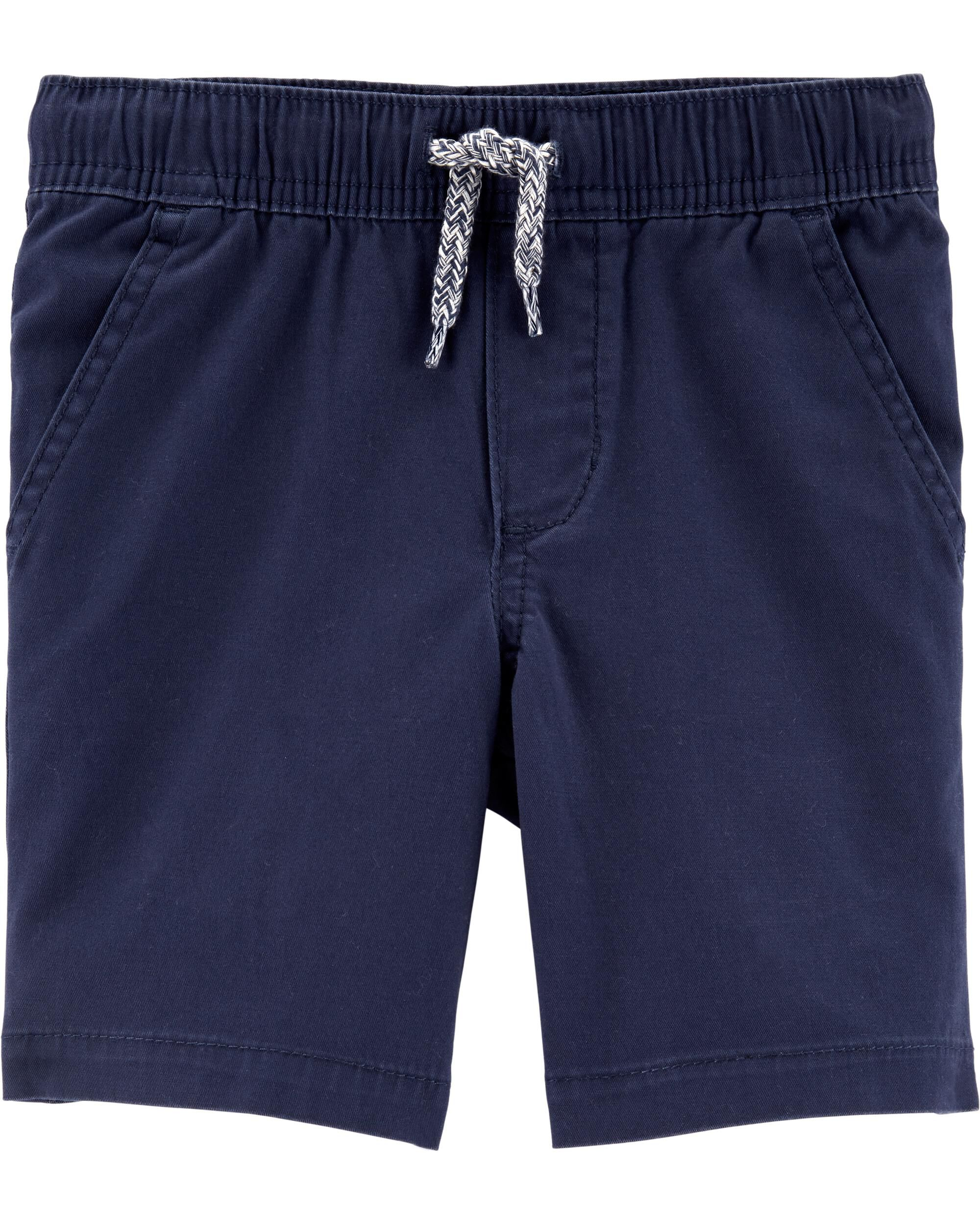 *Clearance*  Pull-On Super Stretch Twill Shorts