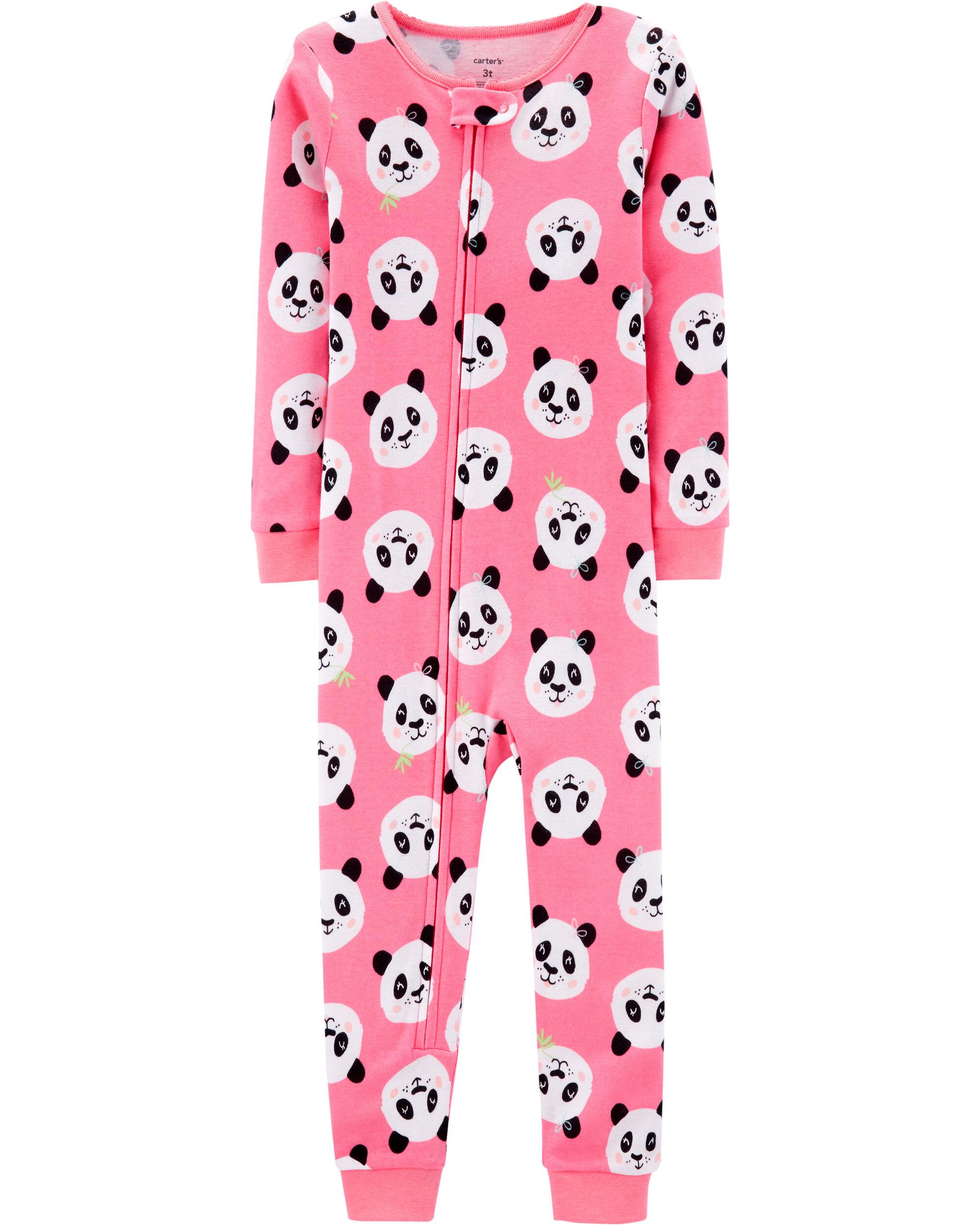 *Clearance*  1-Piece Panda Snug Fit Cotton Footl...