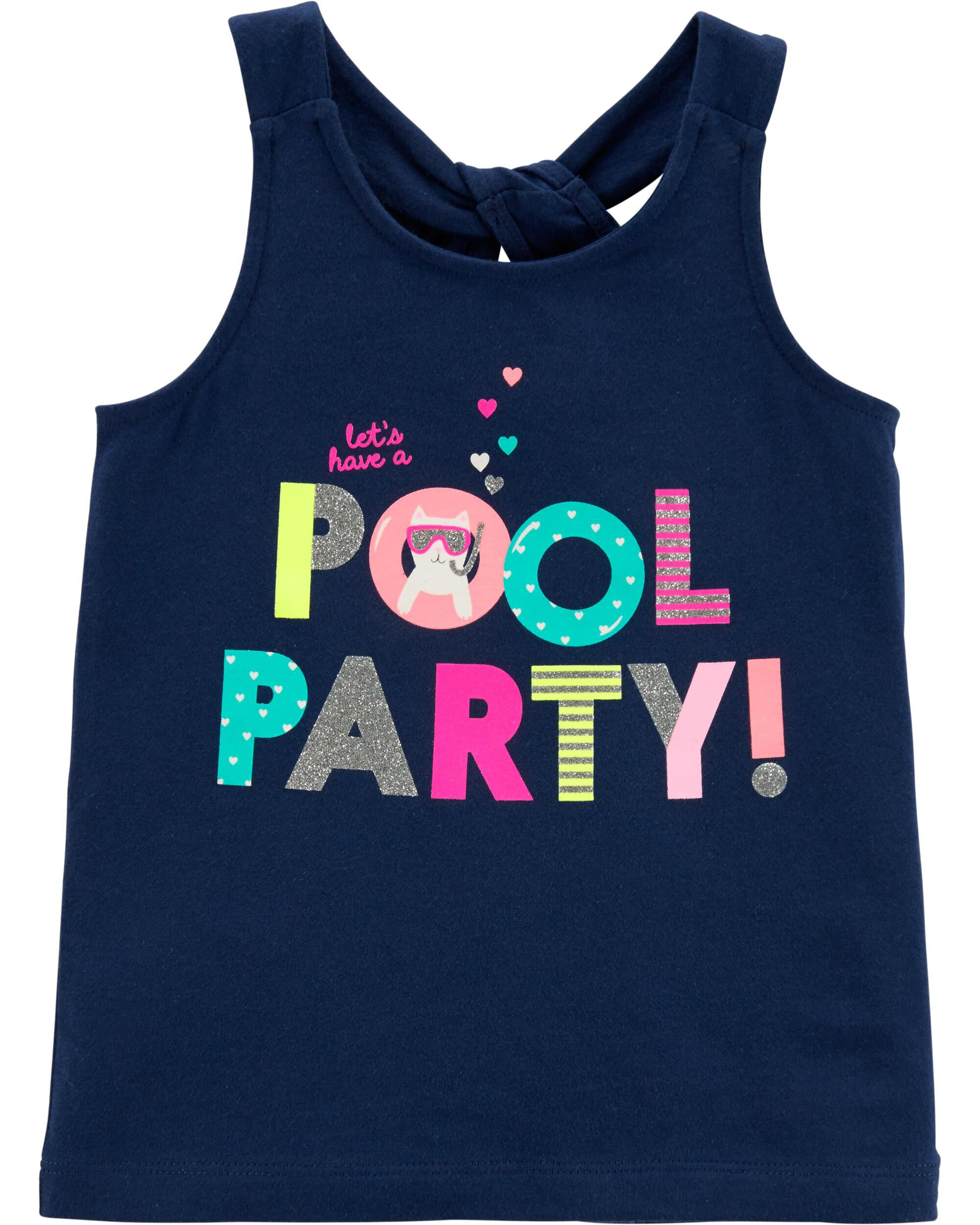 *Clearance*  Pool Party Knot Tank