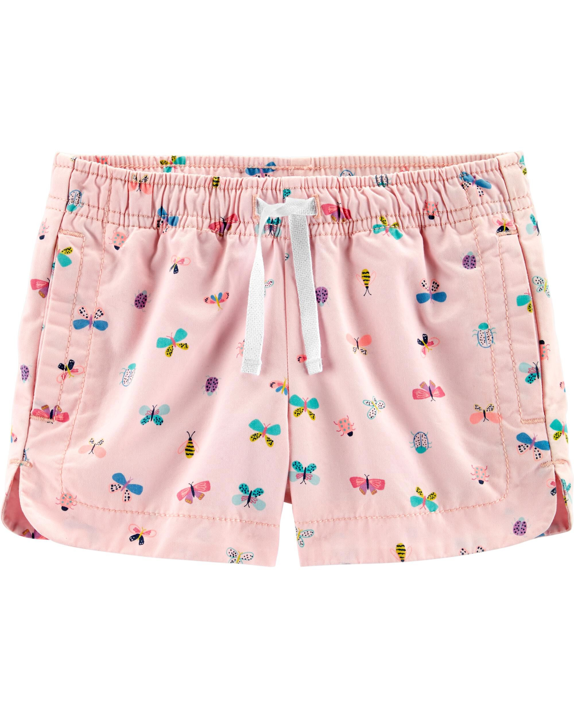 *Clearance*  Butterfly Pull-On Twill Shorts