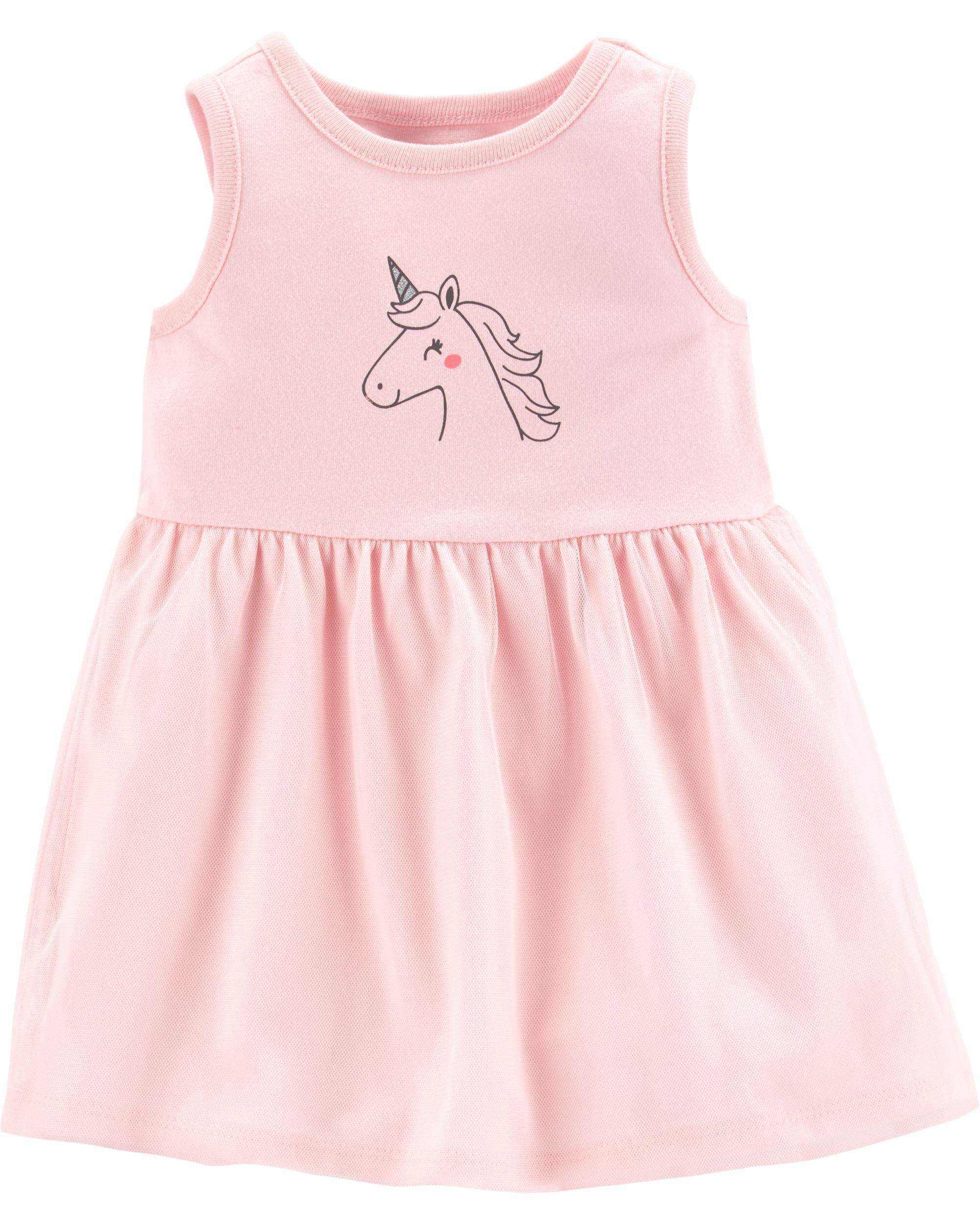 *Clearance*  Unicorn Tutu Jersey Dress