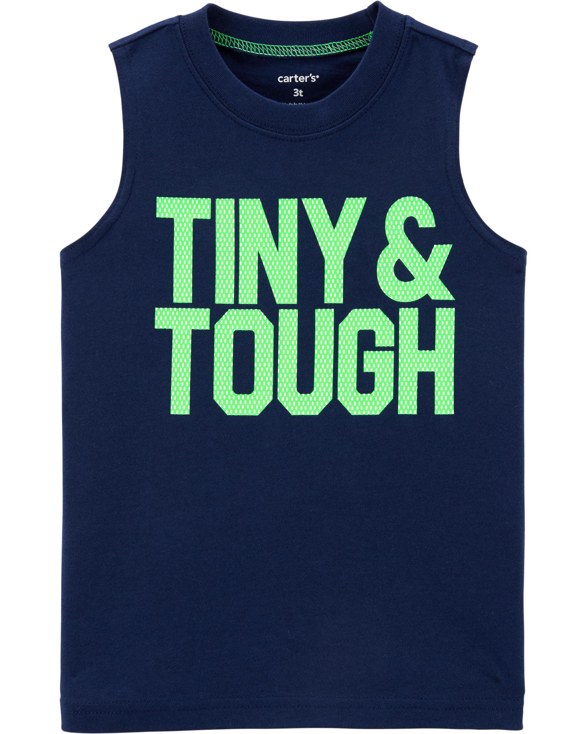 *Clearance*  Tiny & Tough Jersey Tank