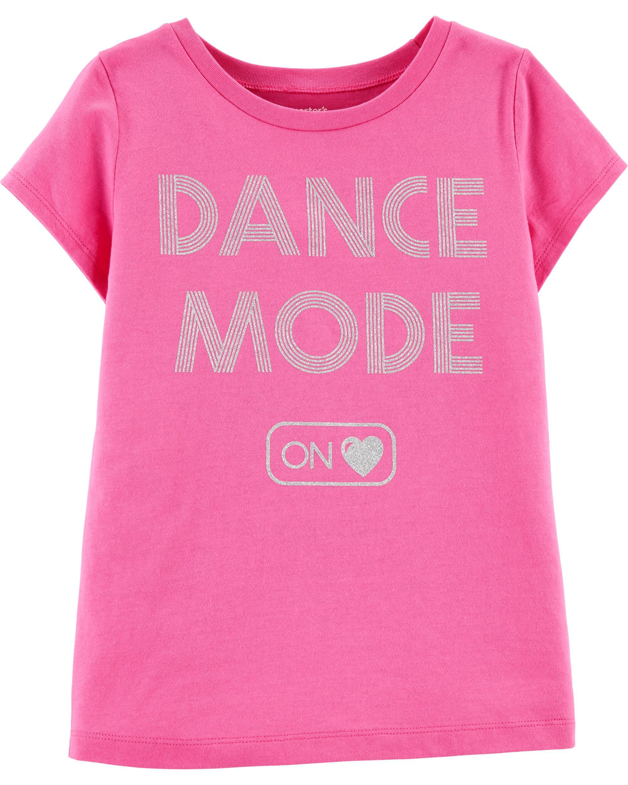 *Clearance*  Dance Mode Jersey Tee